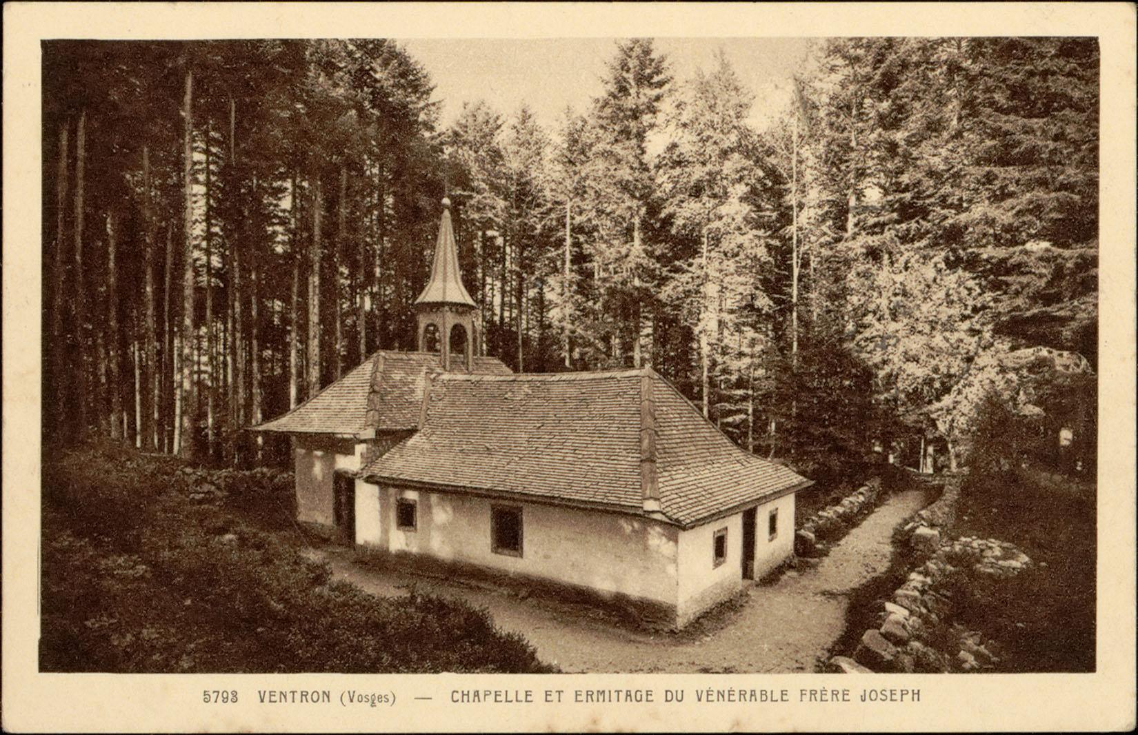 Contenu du Ventron (Vosges), Chapelle et ermitage du Vénérable Frère Joseph