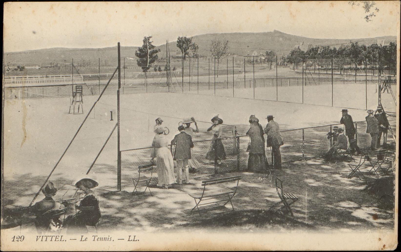 Contenu du Vittel, Le Tennis