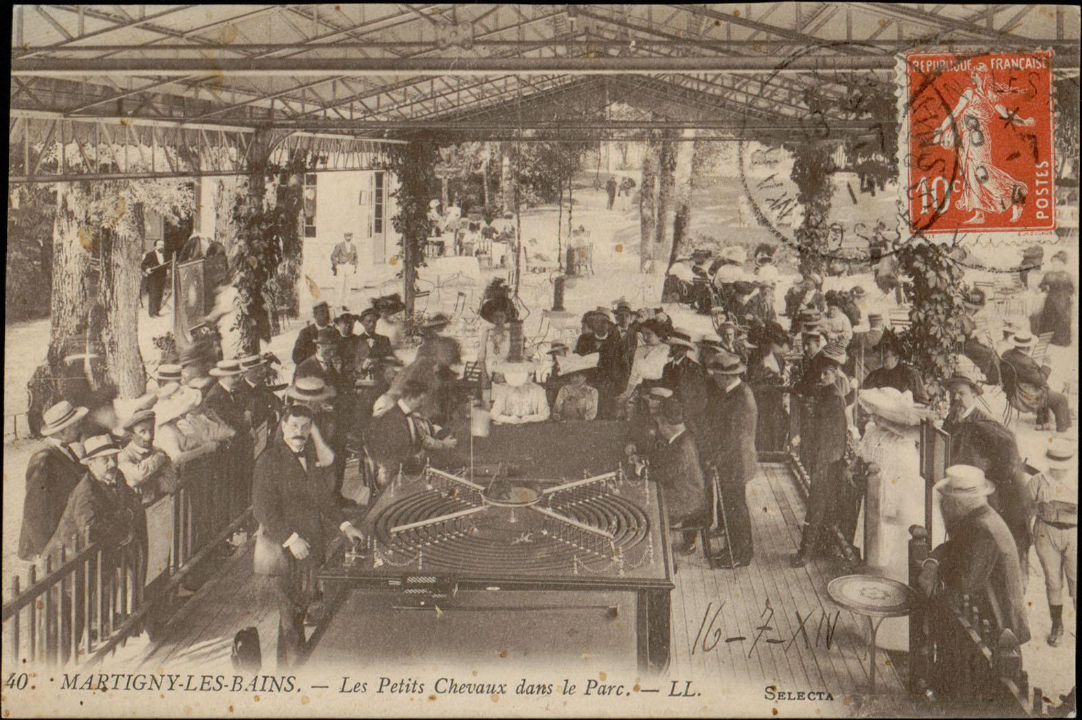 Contenu du Martigny-les-Bains, Les Petits Chevaux dans le Parc