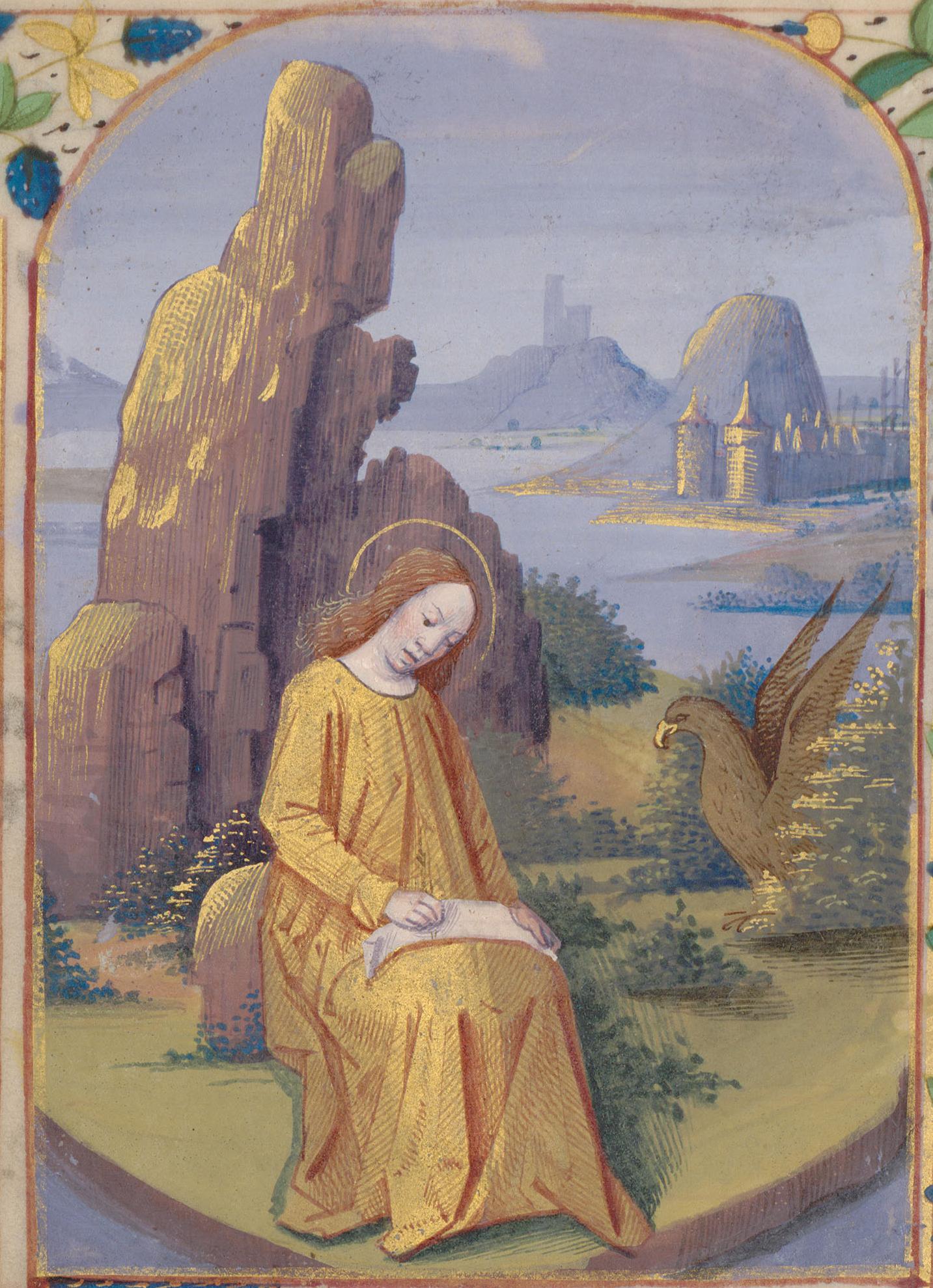 Contenu du Saint Jean à Patmos