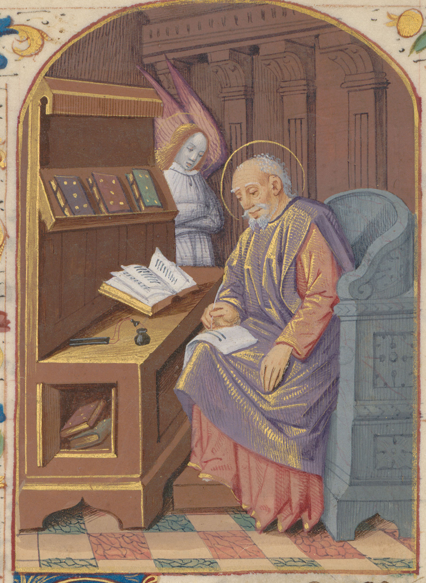 Contenu du Saint Matthieu