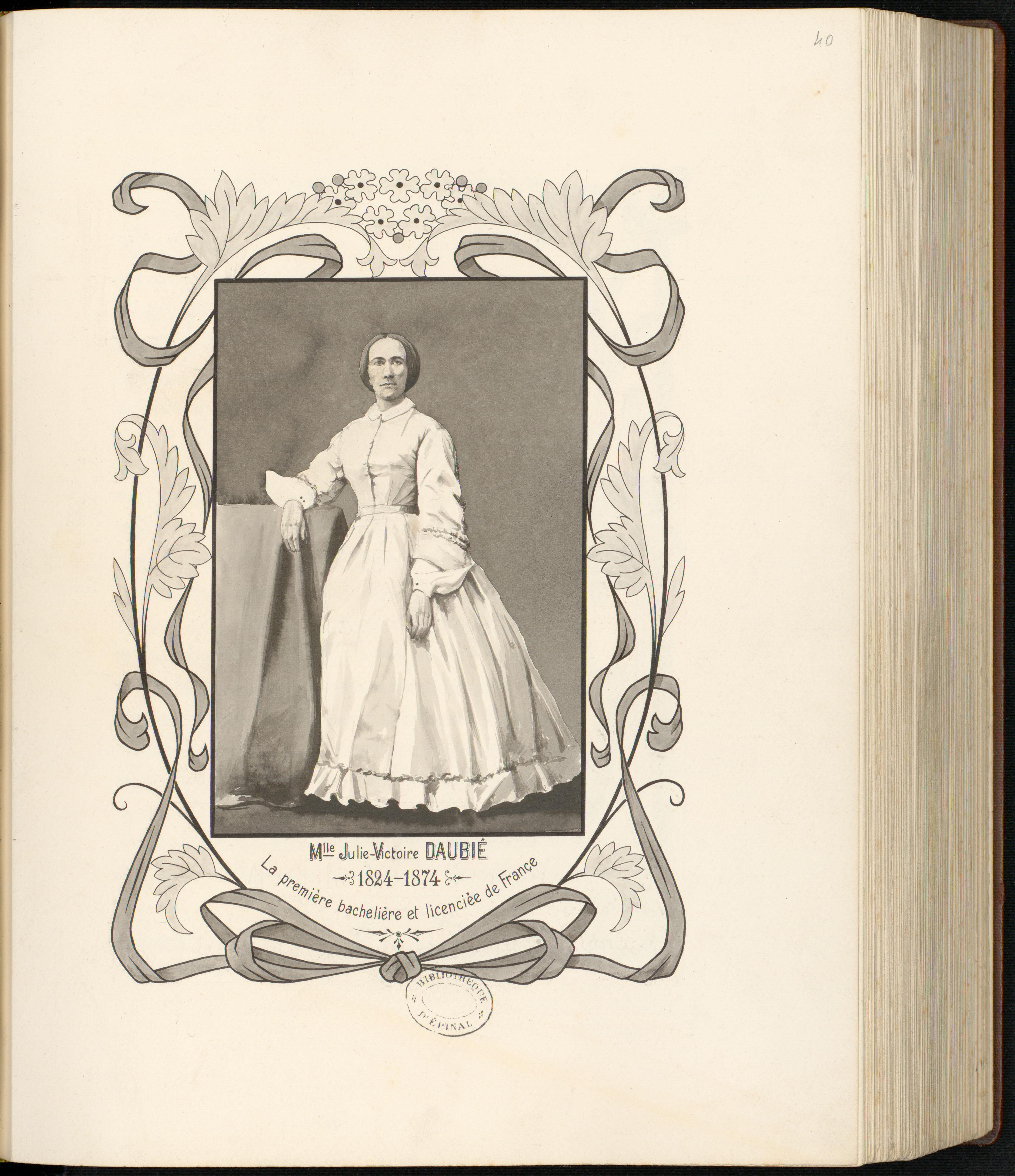 Contenu du Julie-Victoire Daubié