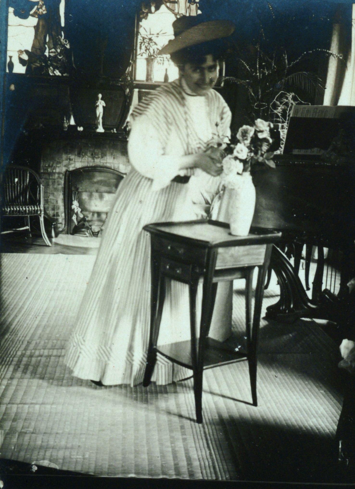Contenu du Jane Majorelle préparant un bouquet