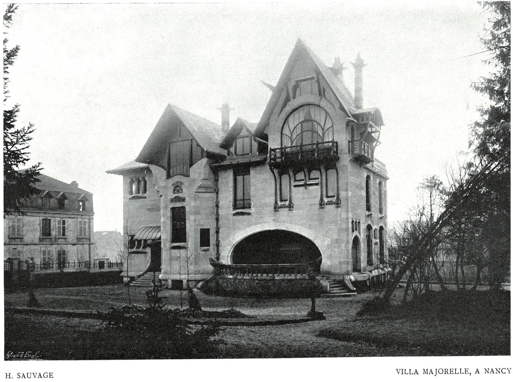 Contenu du La Villa Majorelle à Nancy