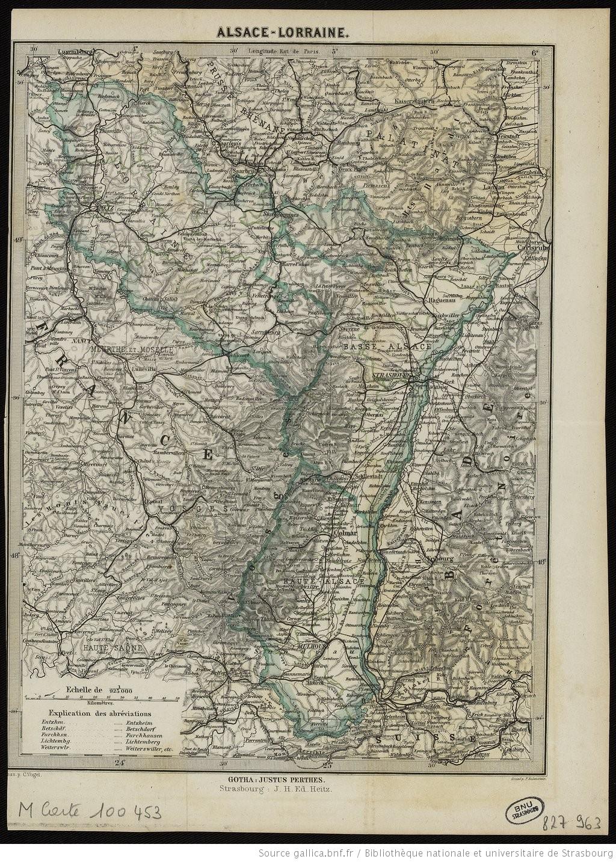 Contenu du L'Alsace-Lorraine