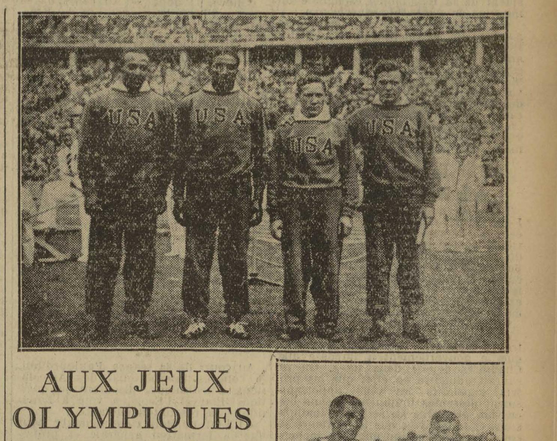 Contenu du Aux Jeux olympiques - L'Est républicain, 12/08/1936