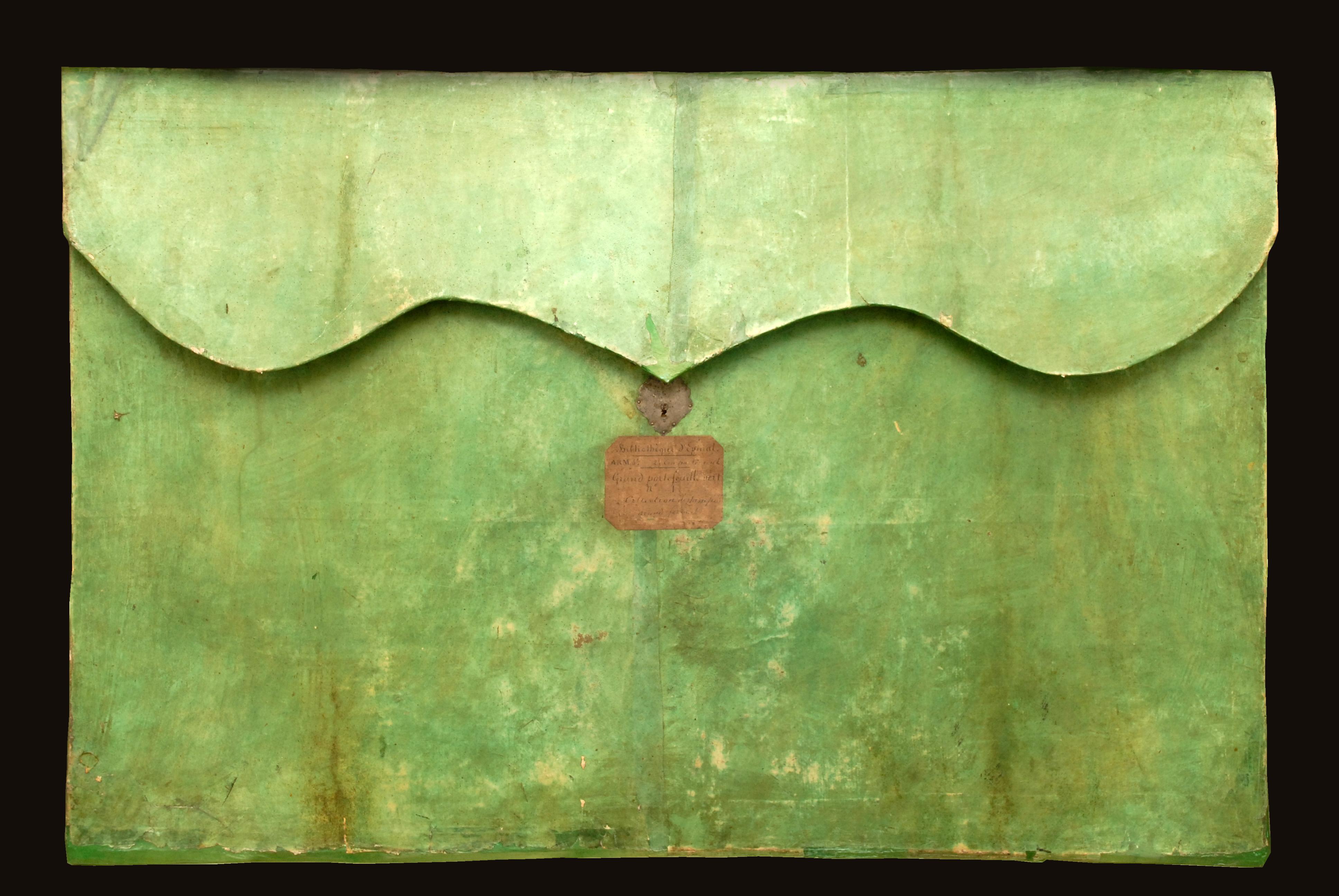 Contenu du Portefeuille d'estampes des princes de Salm-Salm