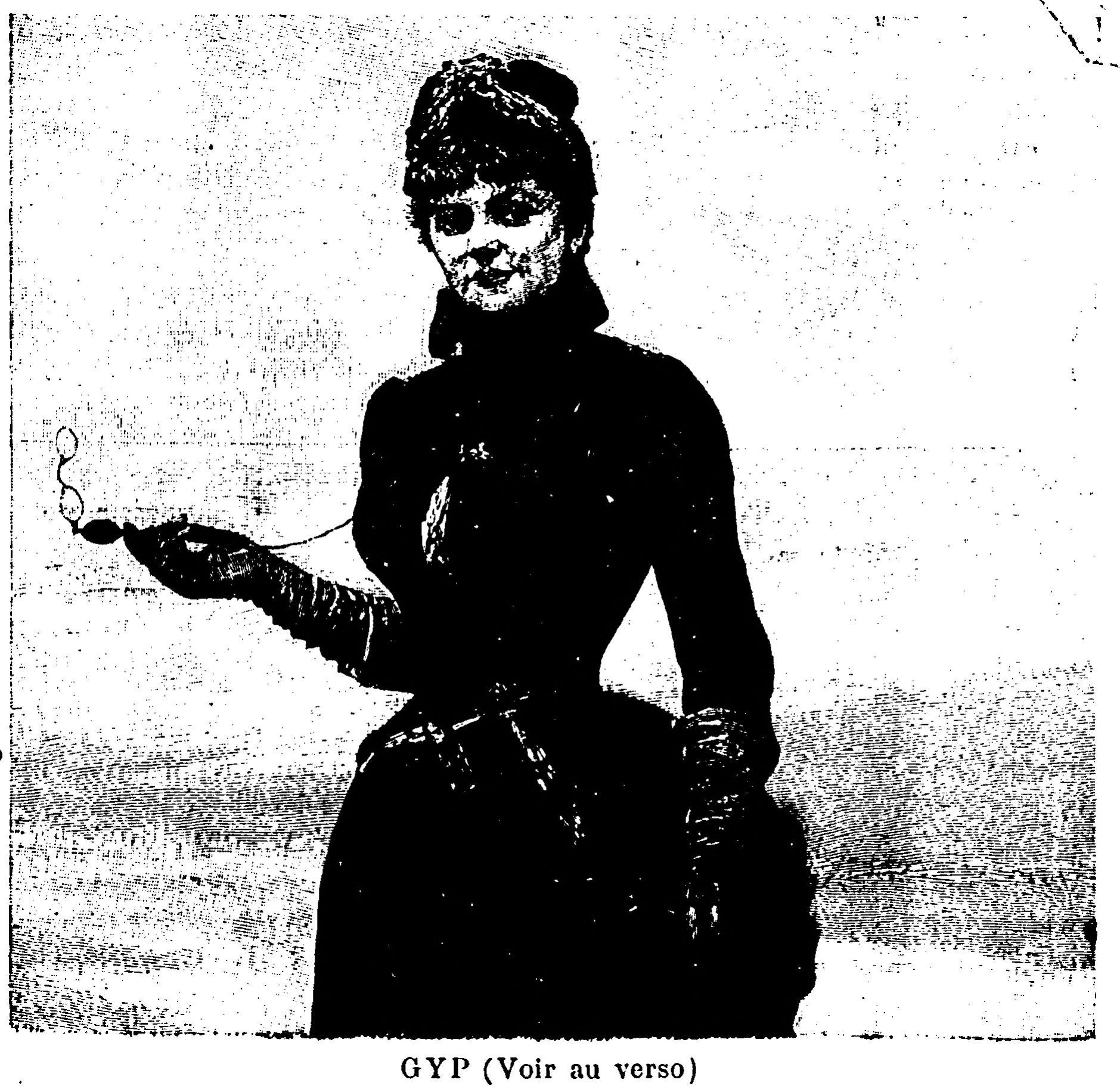Contenu du Journal du dimanche littéraire 7 mai 1893, Gyp et son face-à-main