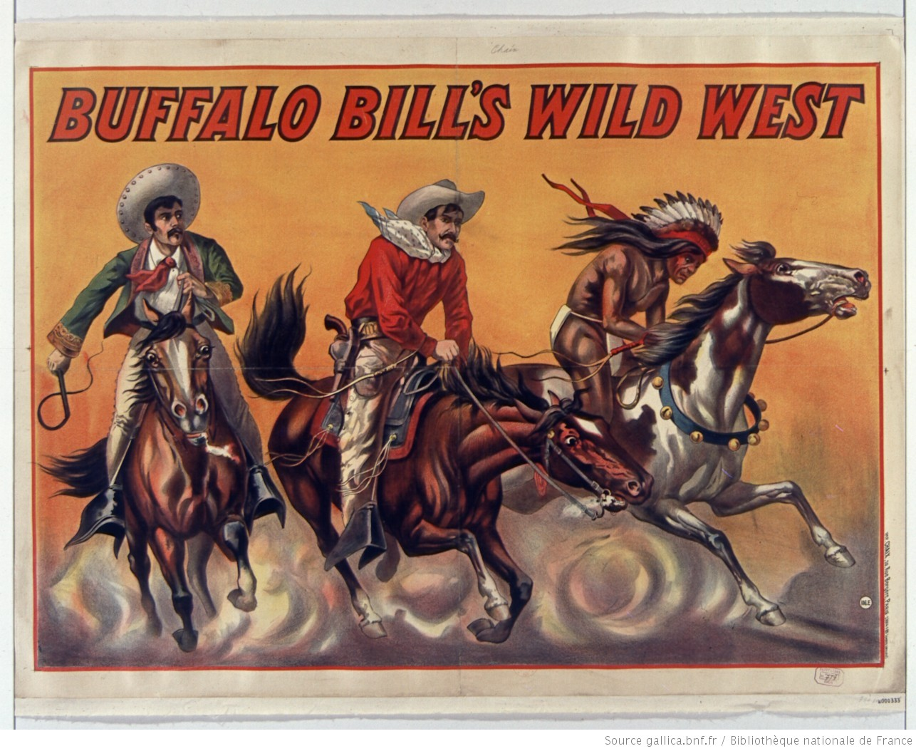 Contenu du Buffalo Bill's Wild West