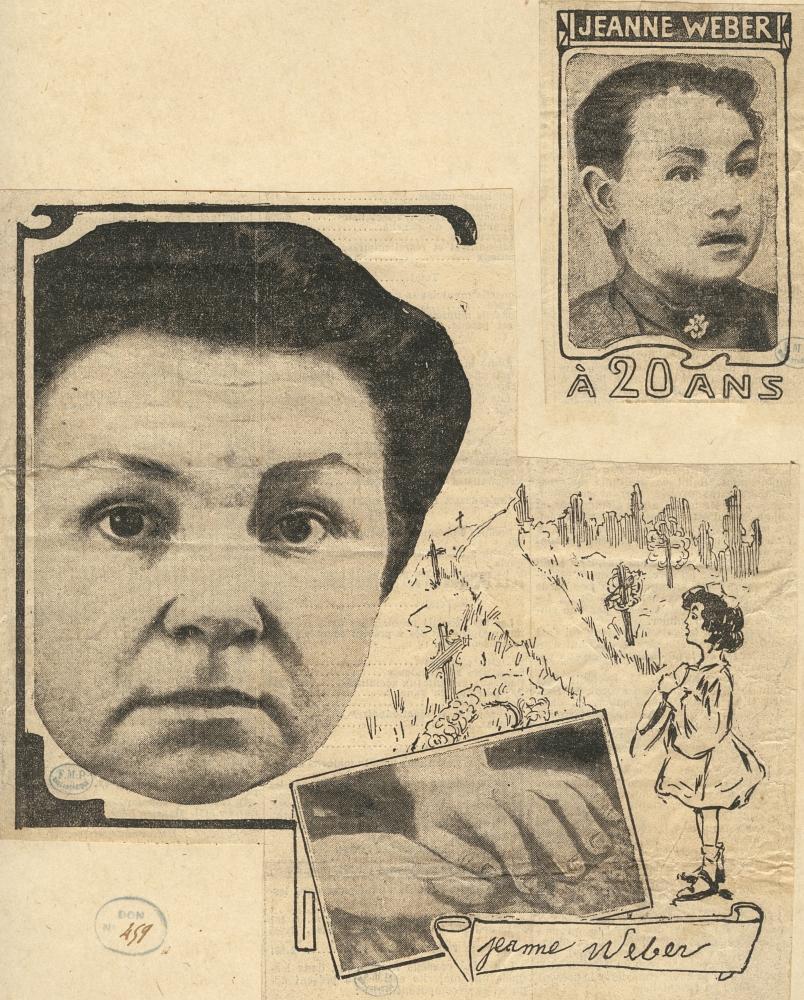 Contenu du Jeanne Weber     (Source de l'image: gallica.bnf.fr / BnF Document accessible sur le site de Banque d'images - BIU Santé)