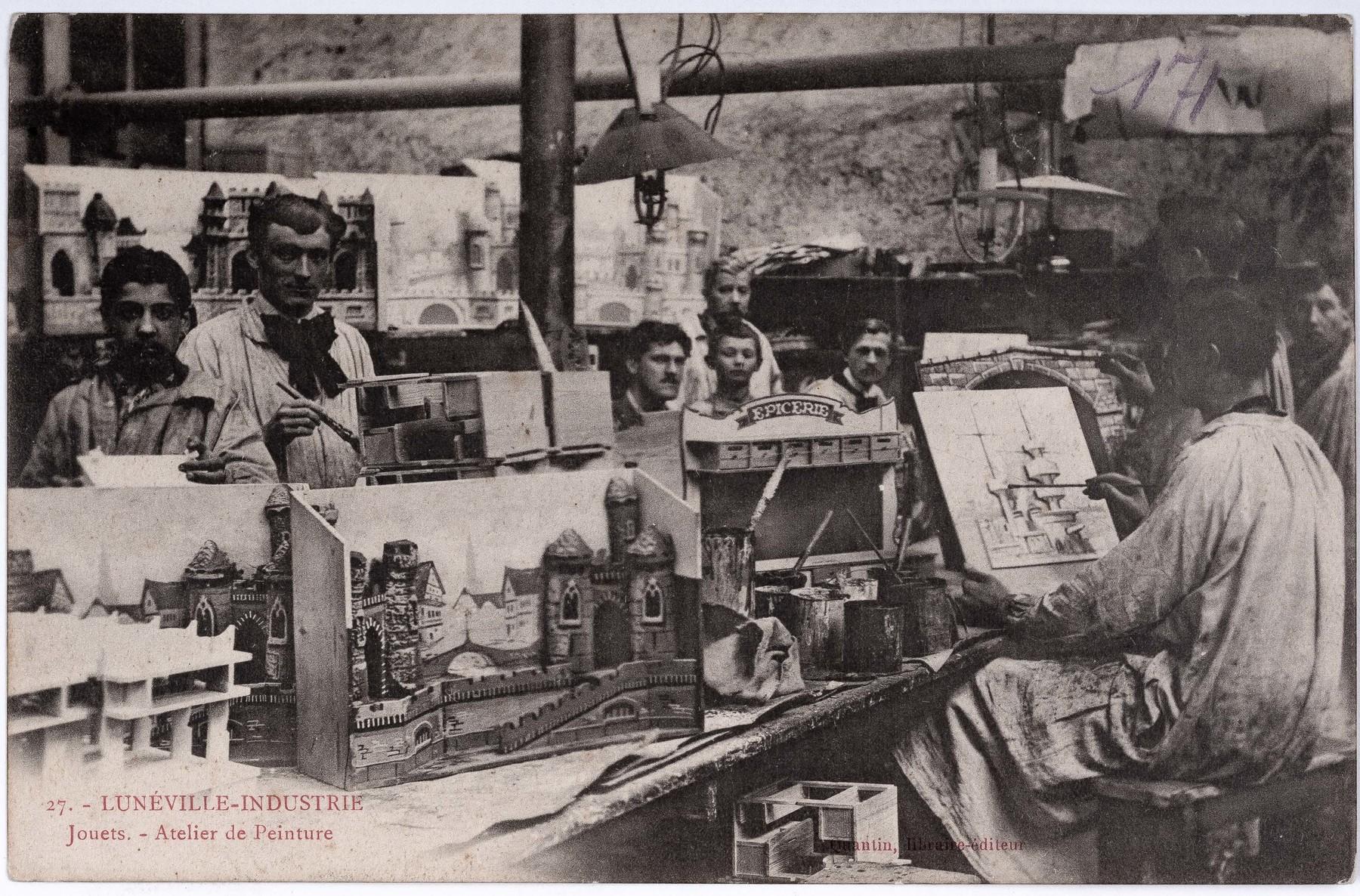 Contenu du Jouets-Atelier de peinture