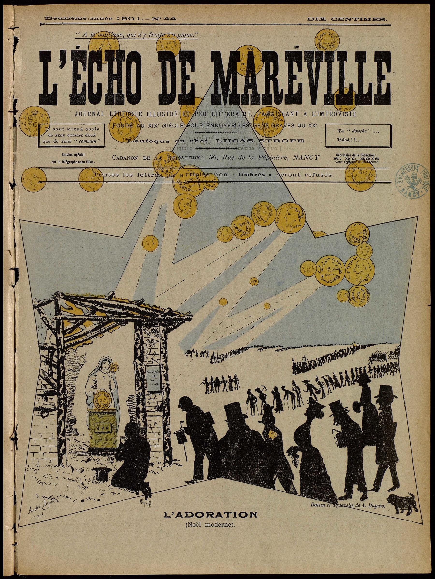 Contenu du L'Écho de Maréville