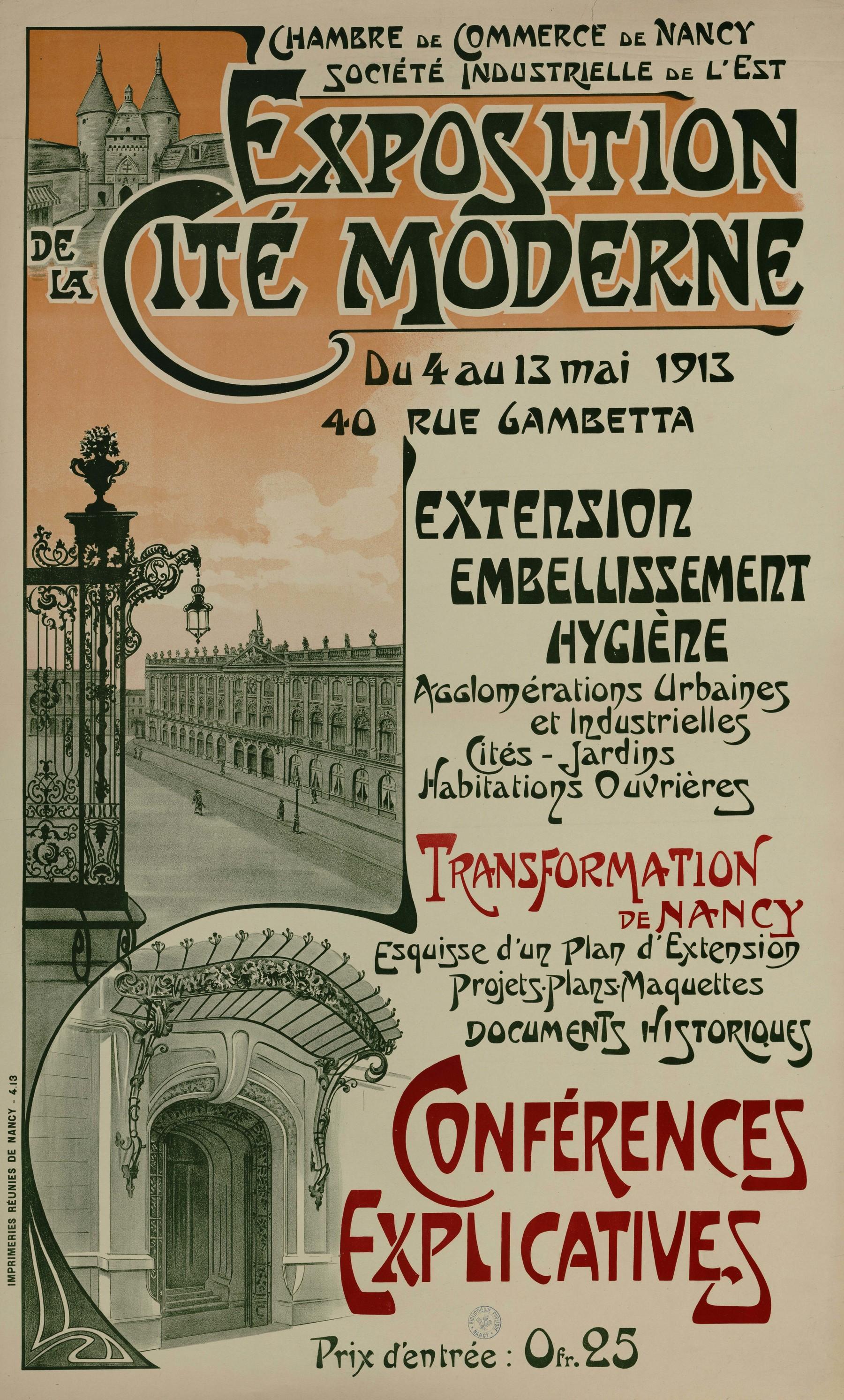 Contenu du Exposition de la Cité Moderne