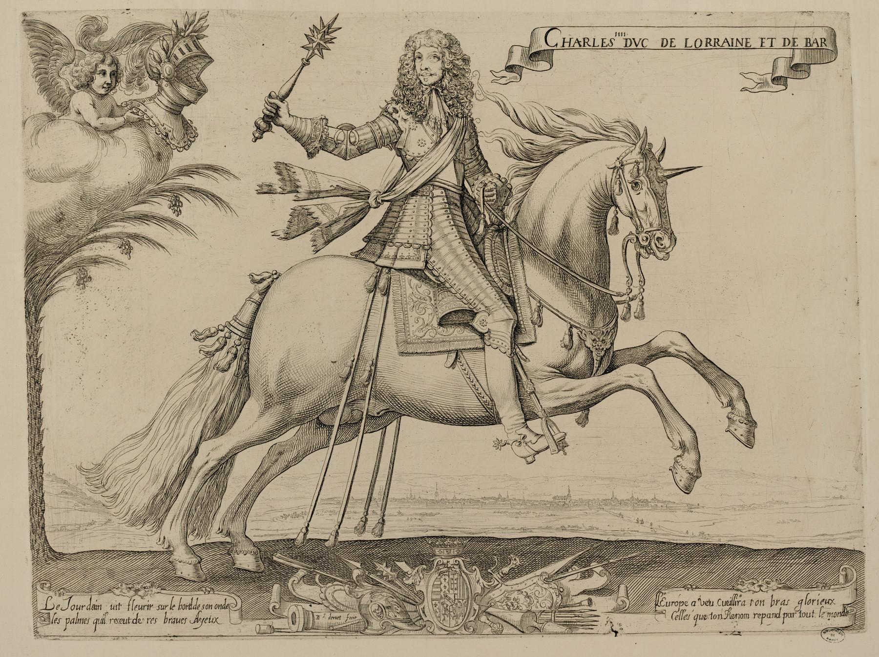 Contenu du Charles IIII [IV] duc de Lorraine et de Bar