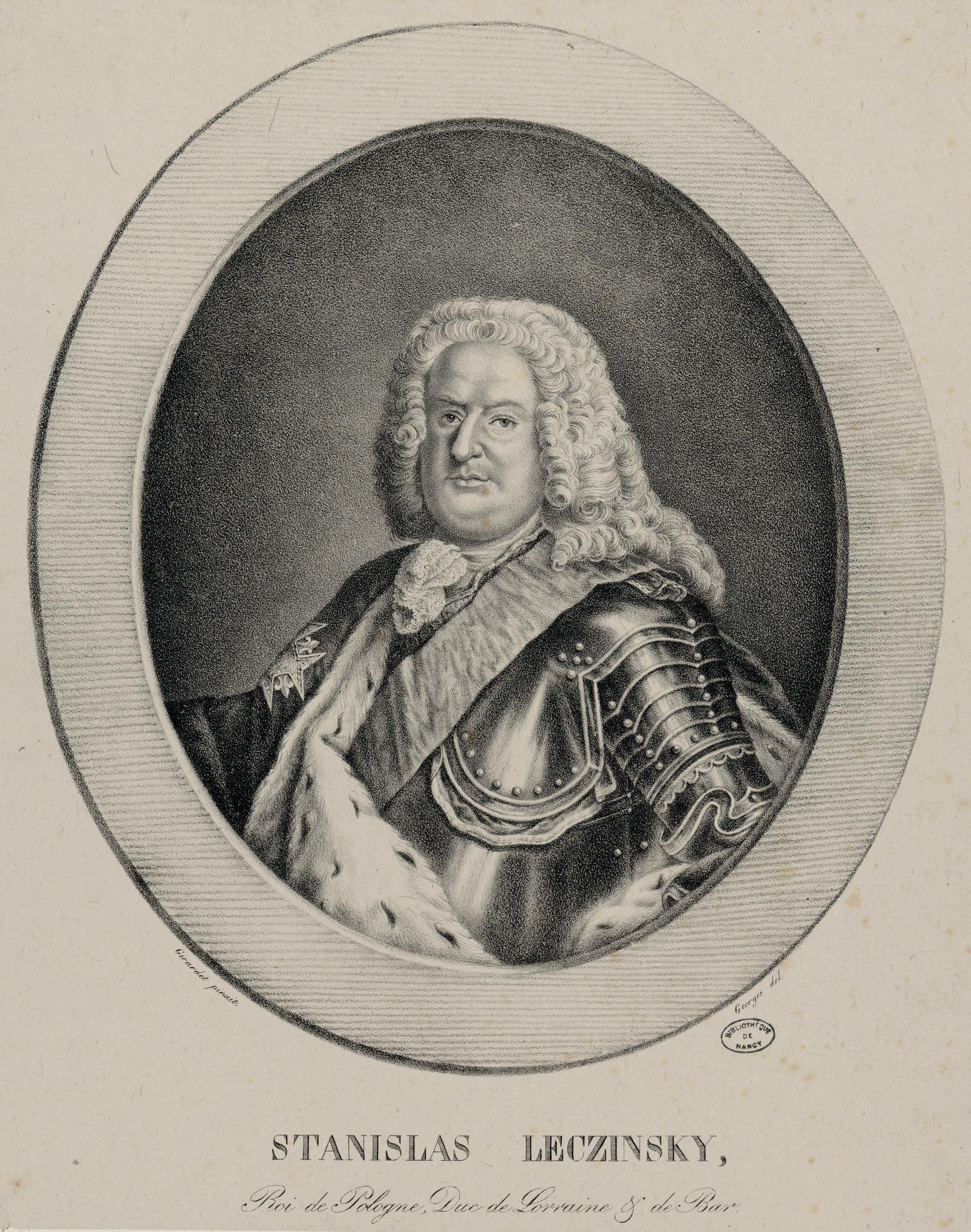 Contenu du Stanislas Leczinsky, Roi de Pologne, Duc de Lorraine et de Bar