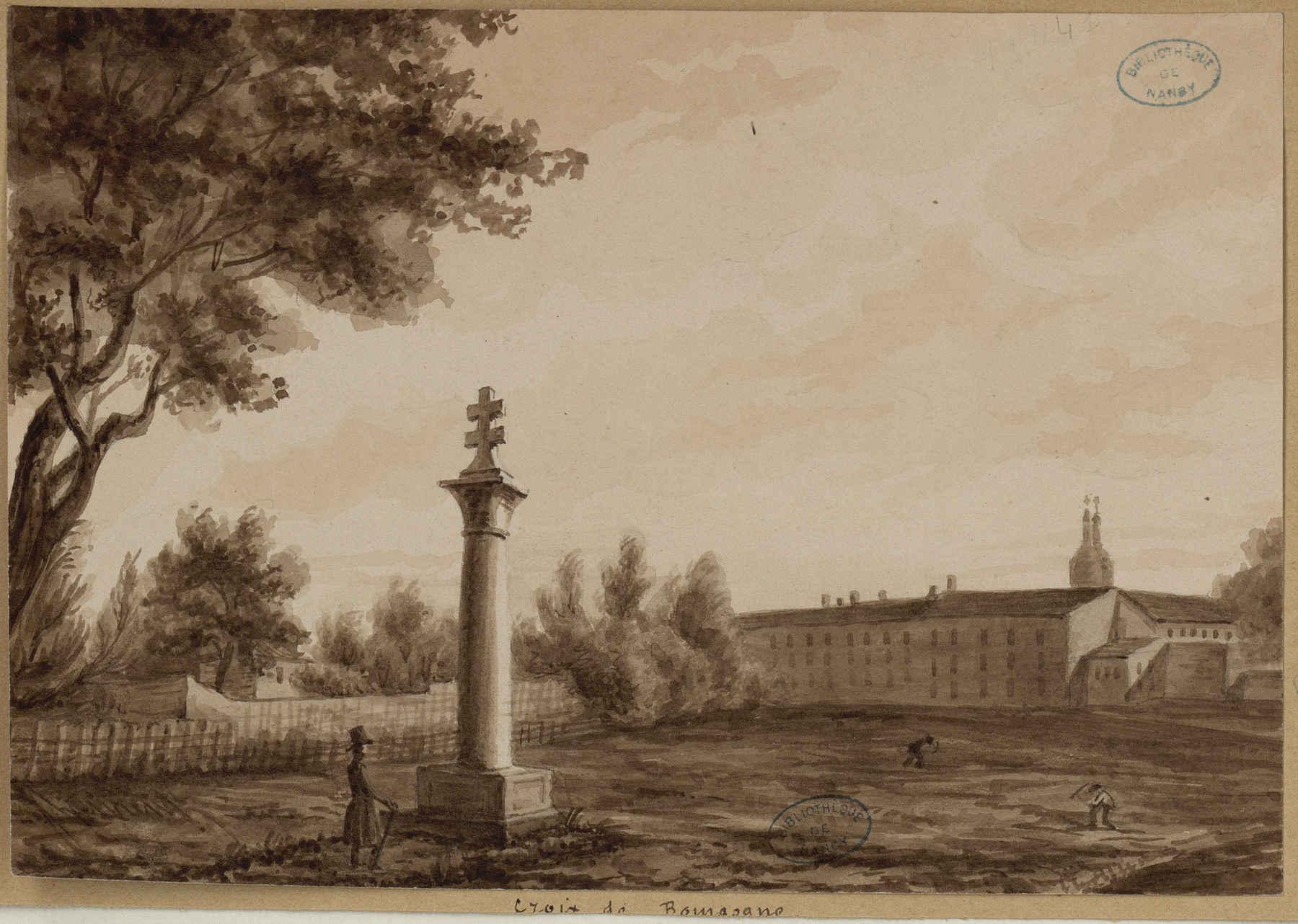 Contenu du [Monument de la] Croix de Bourgogne