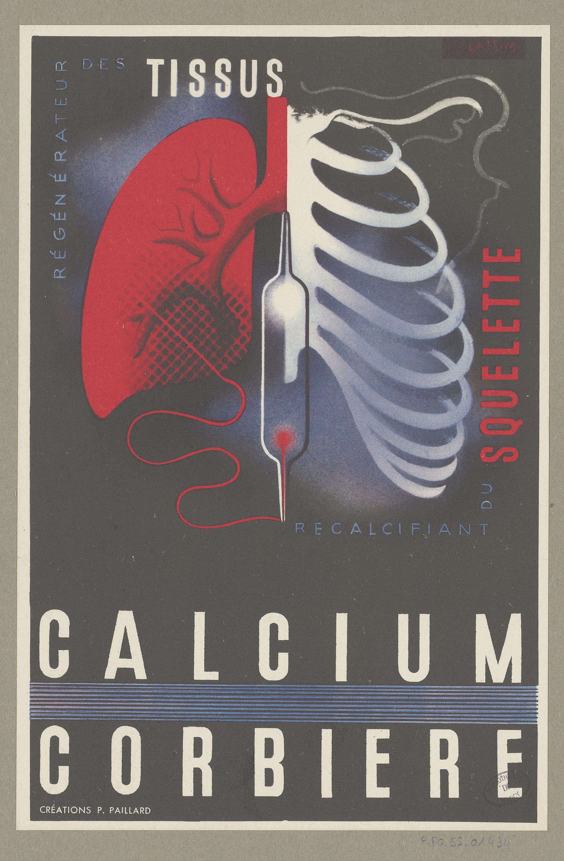 Contenu du Calcium Corbiere