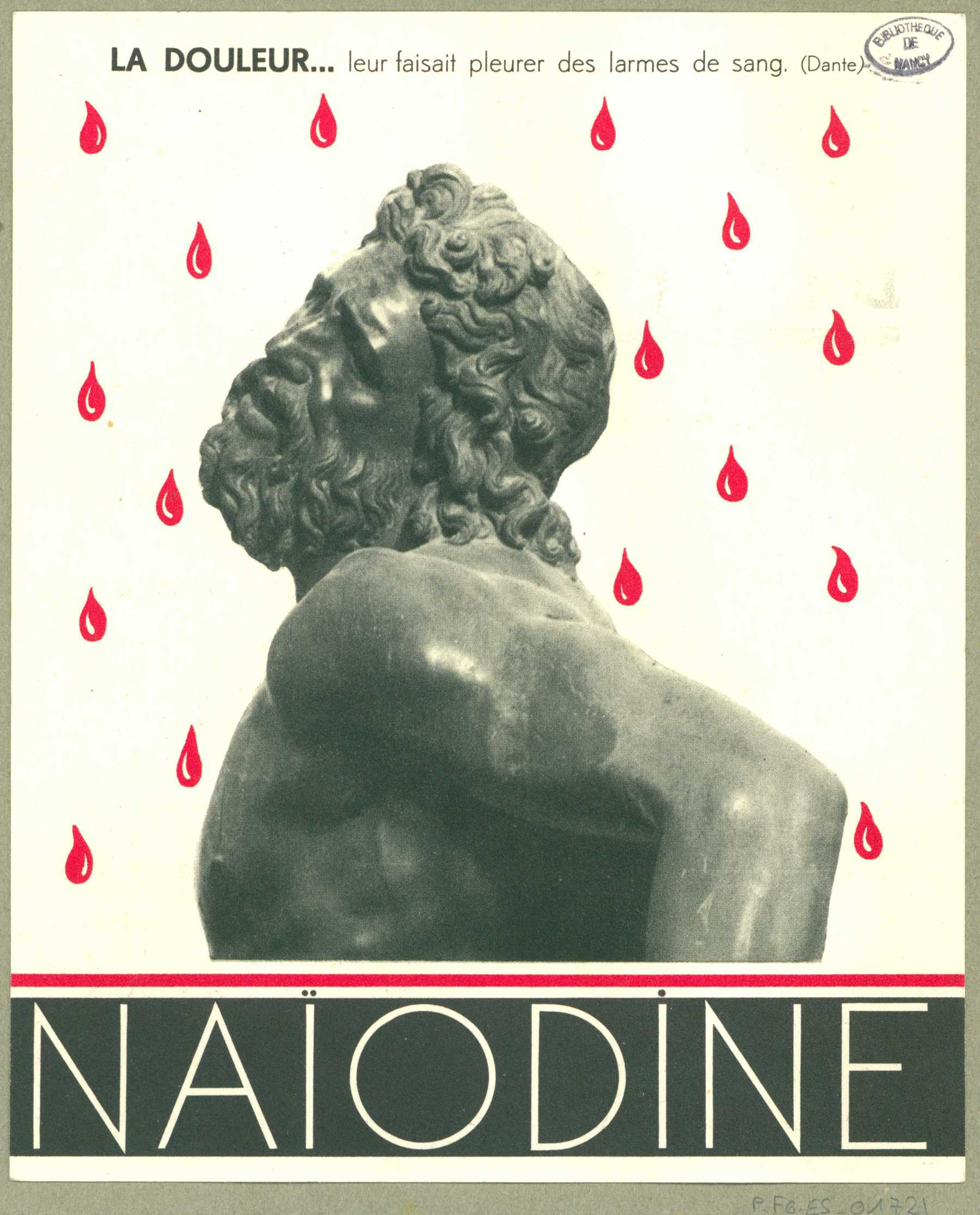 Contenu du Naïodine