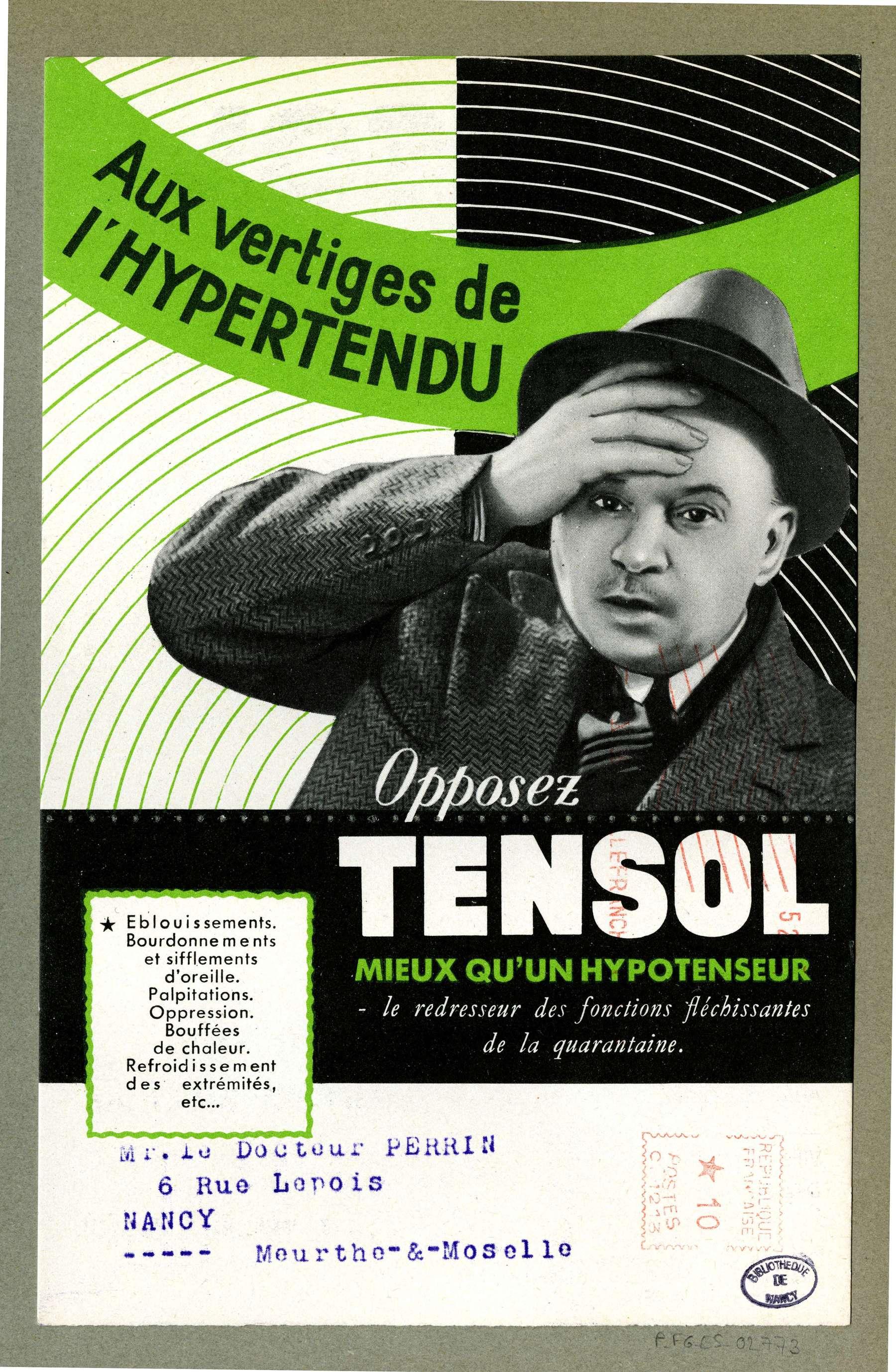 Contenu du Tensol
