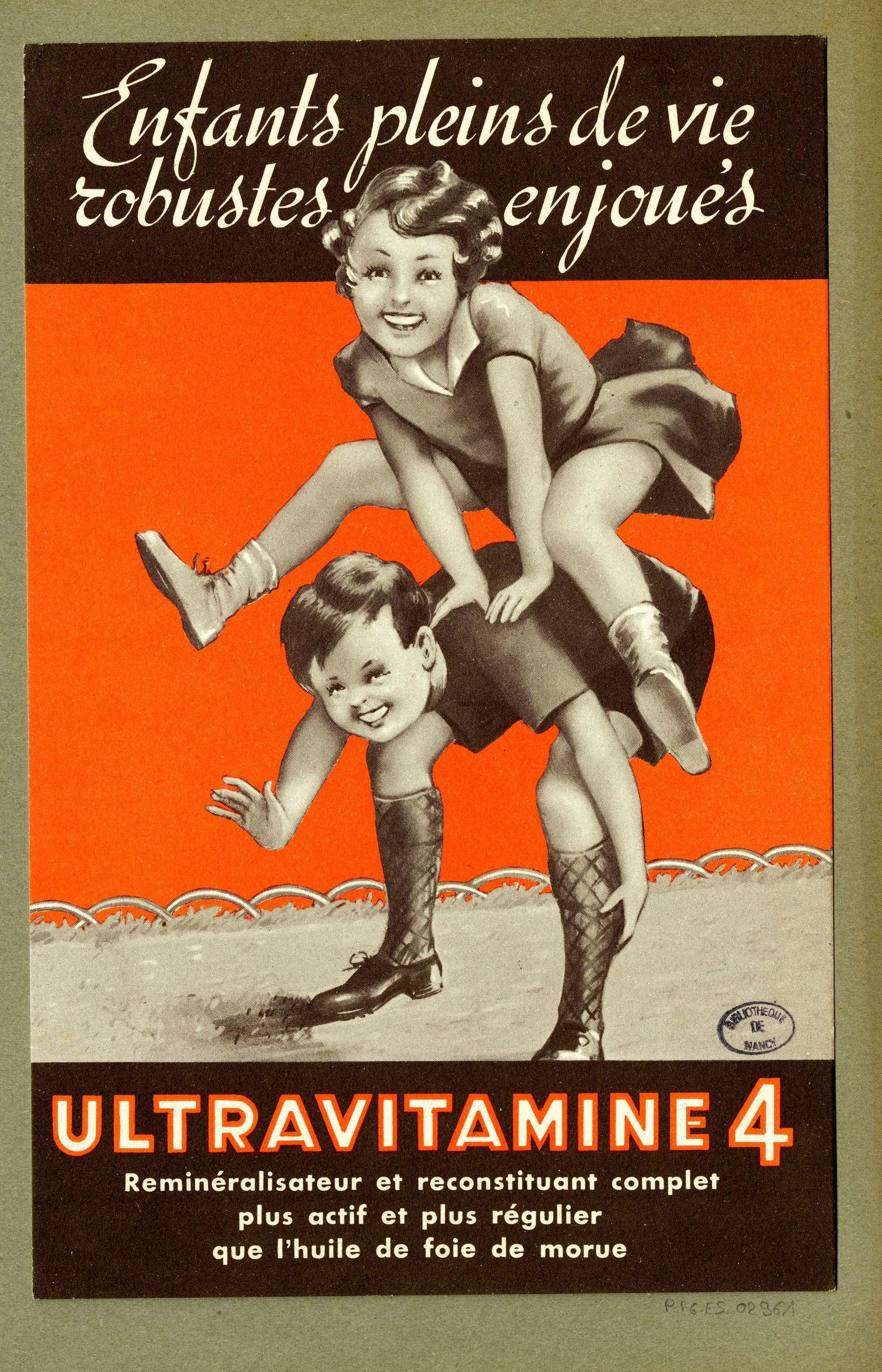 Contenu du Ultravitamine 4