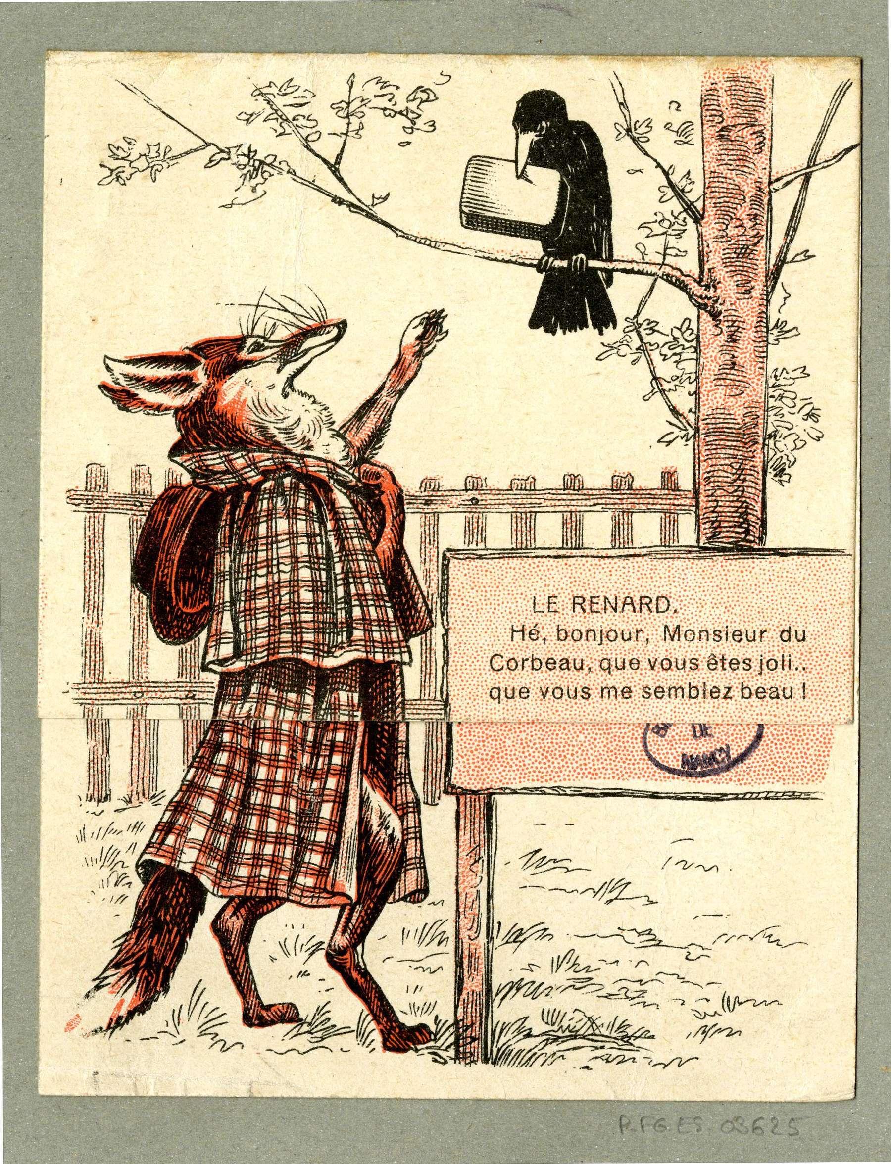 Contenu du Le renard