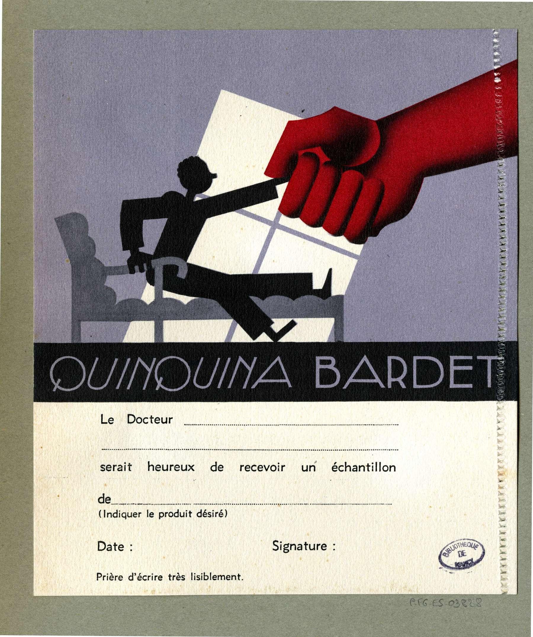 Contenu du Quinquina Bardet