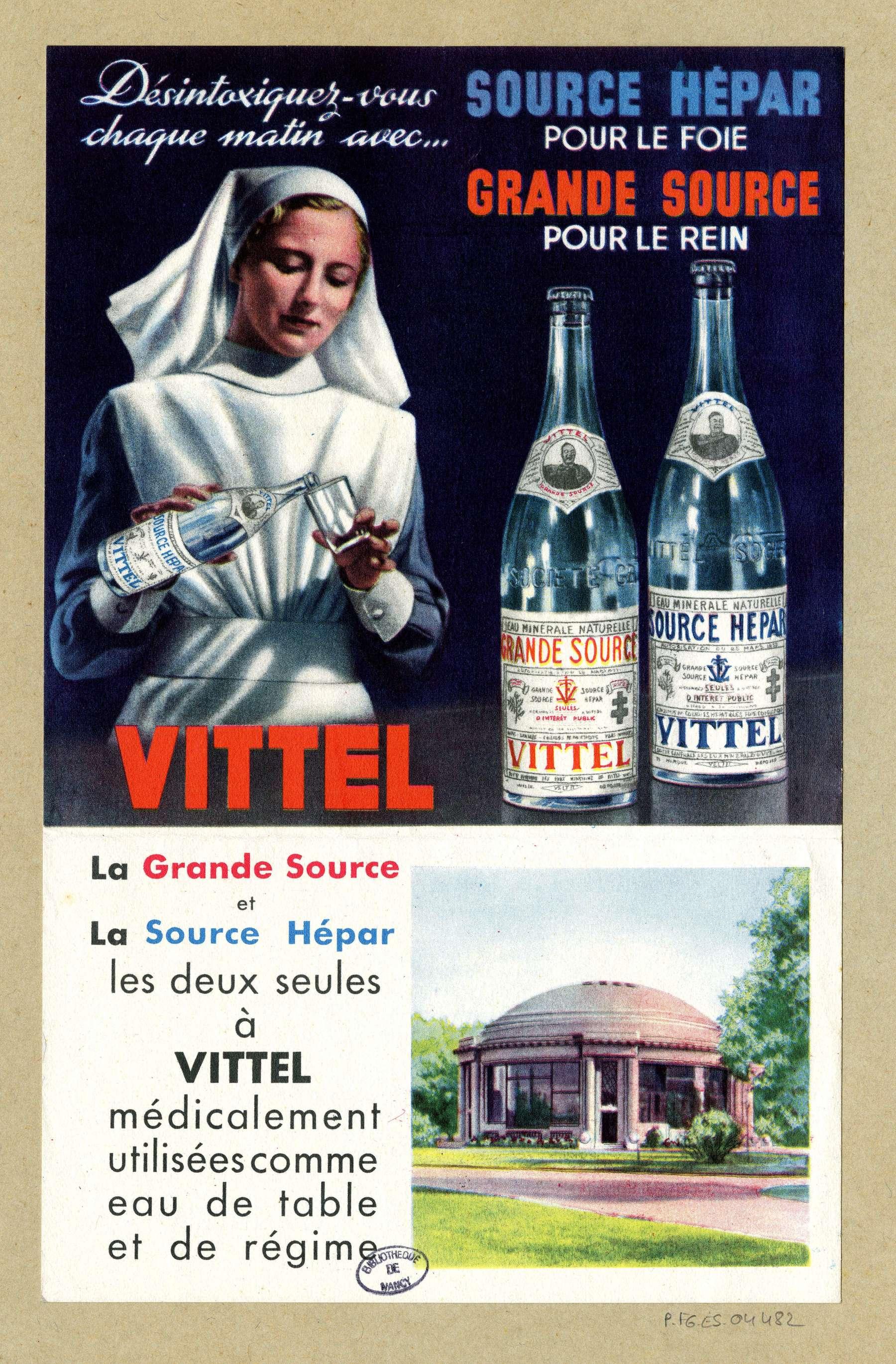 Contenu du Vittel