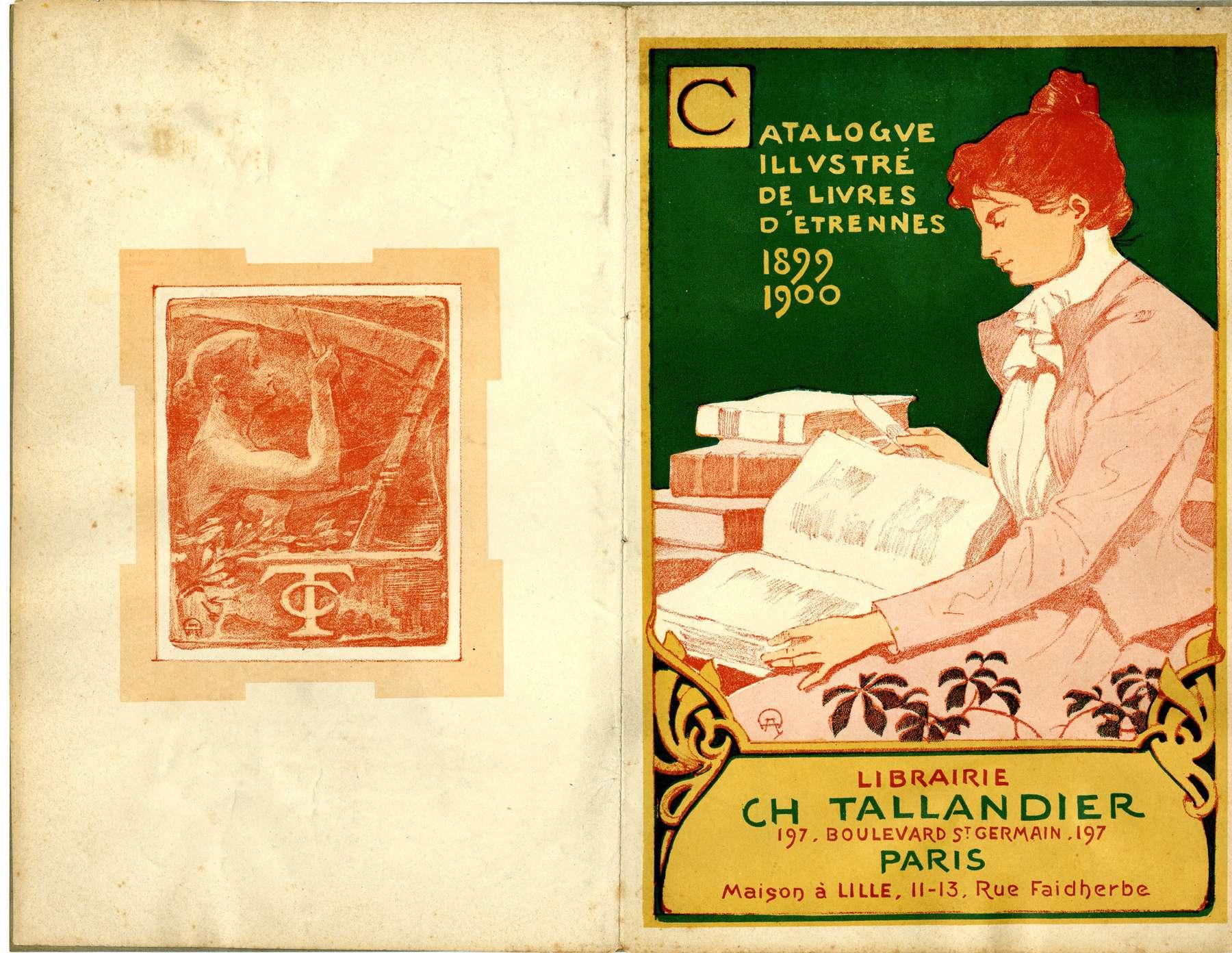 Contenu du Catalogue illustré de livres d'étrennes