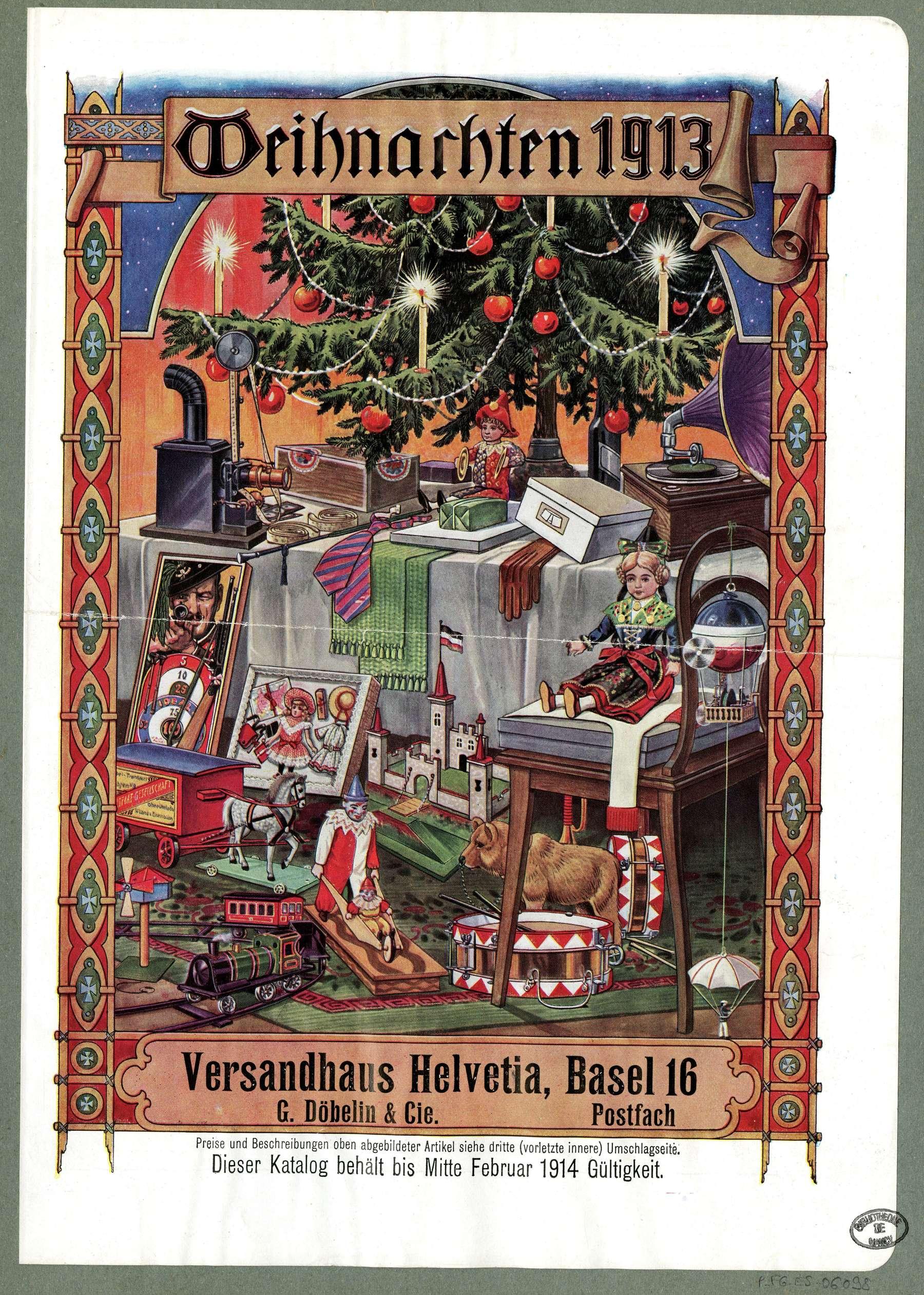 Contenu du Weinachten 1913