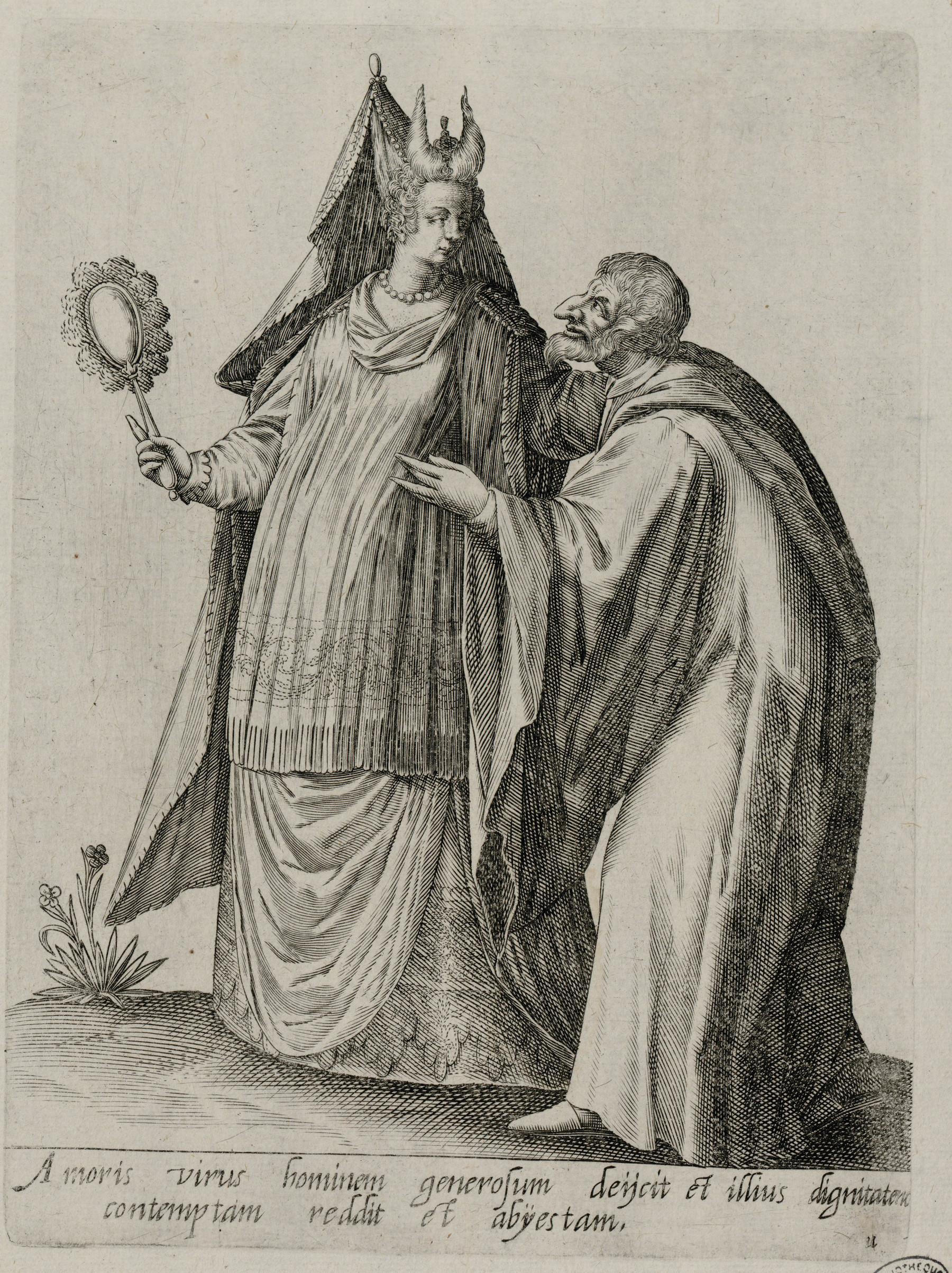 Contenu du Homme et femme en costume