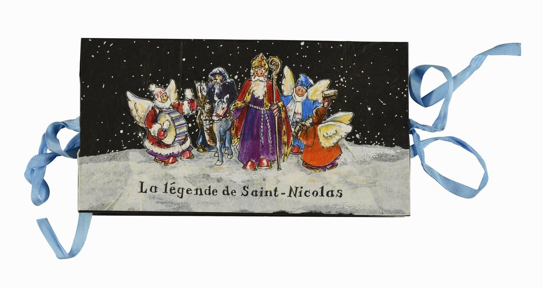 Contenu du La légende de Saint Nicolas