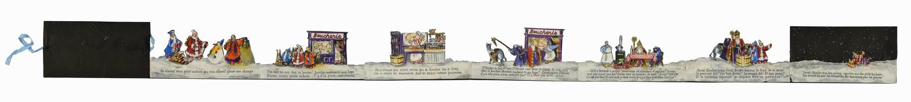 Contenu du L'histoire de Saint Nicolas en images