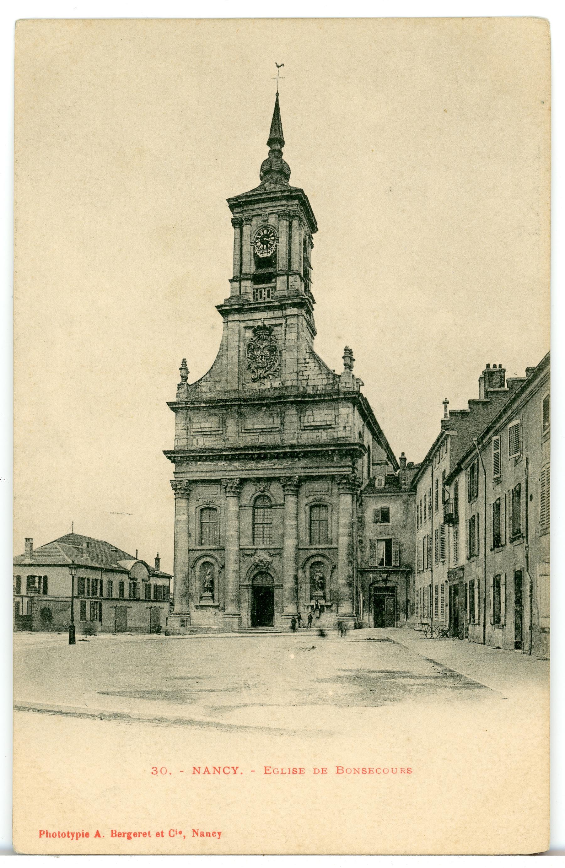 Contenu du Nancy (Meurthe-et-Moselle) - Église de Bonsecours