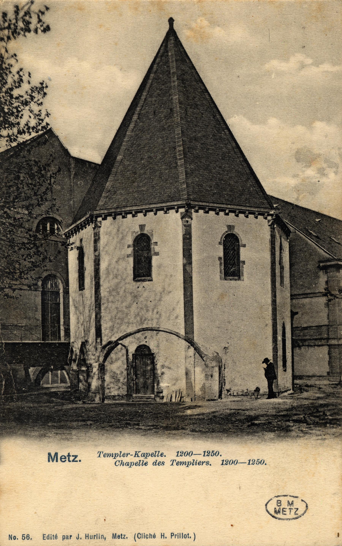 Contenu du Metz. Templer-Kapelle. 1200-1250.