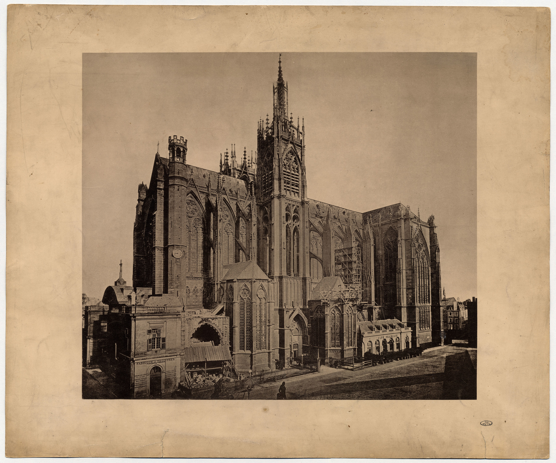 Contenu du Les travaux de la cathédrale de Metz en 1882