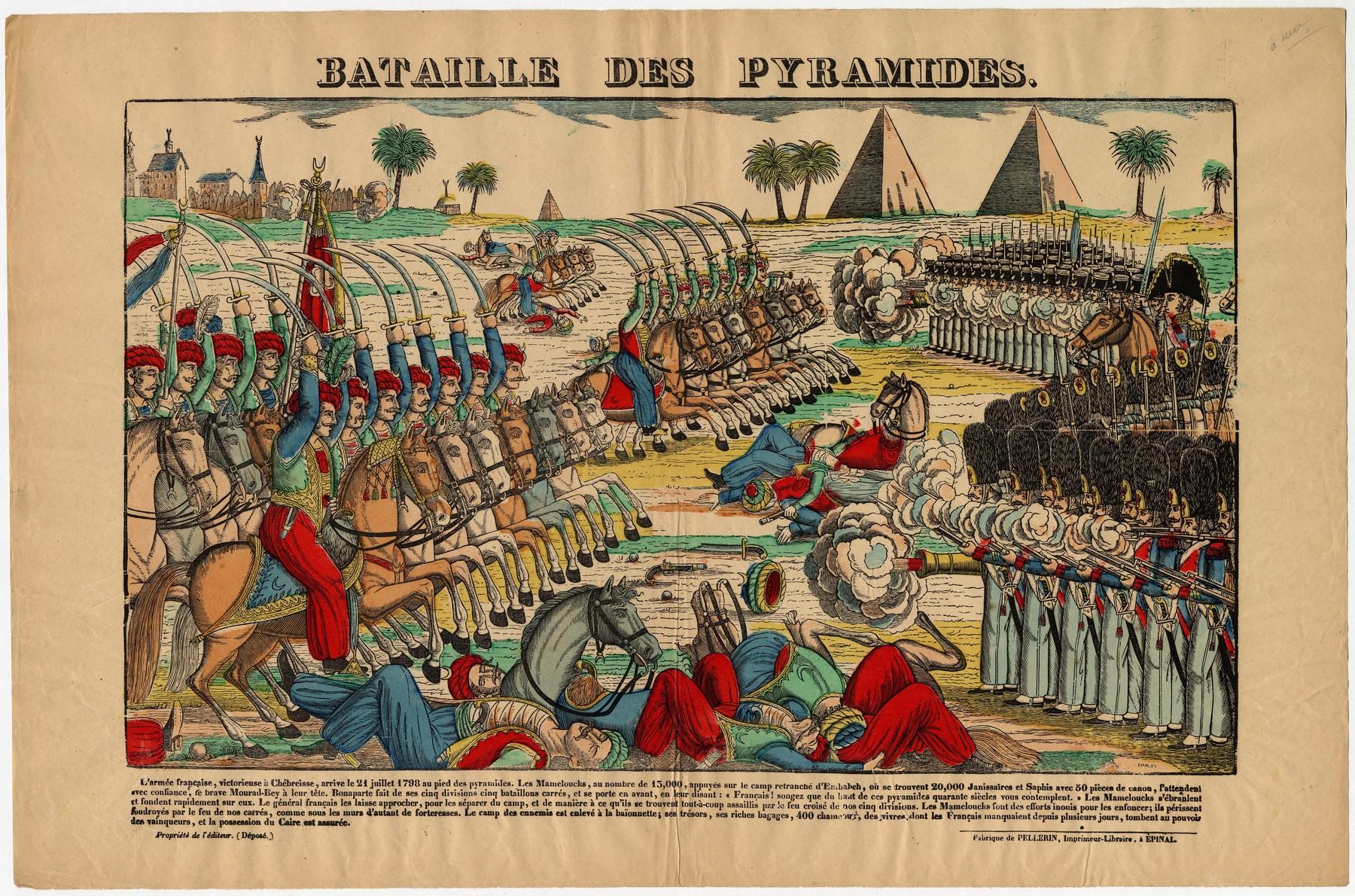 Contenu du Bataille des Pyramides