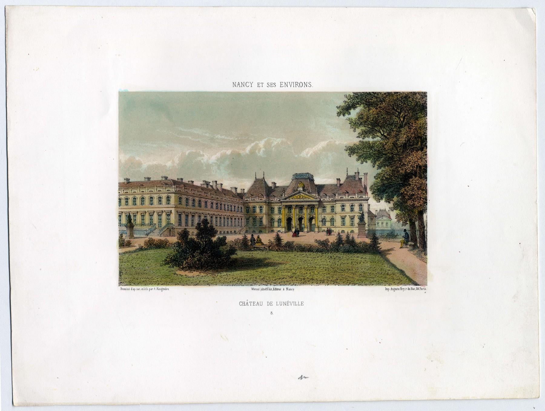 Contenu du Château de Lunéville