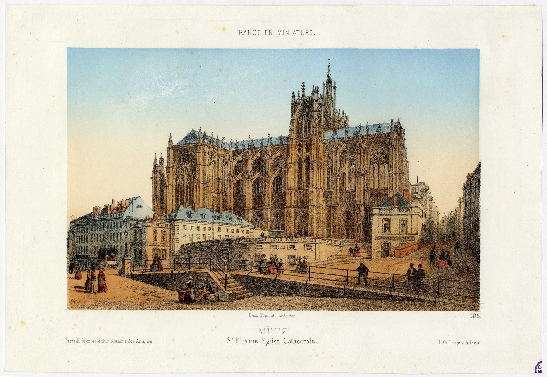 Contenu du France en miniature: Metz, Saint-Étienne, église cathédrale
