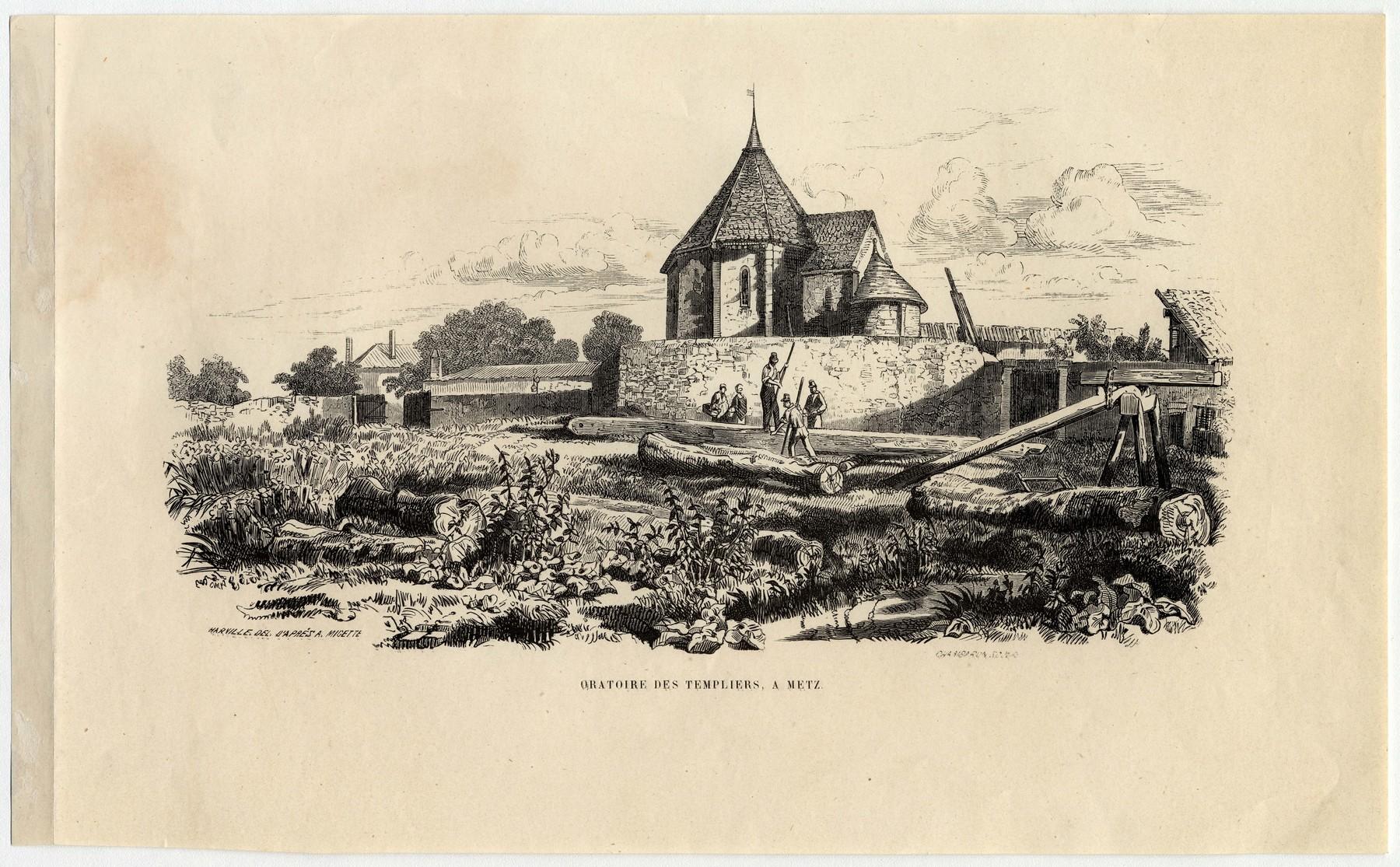 Contenu du Oratoire des templiers, à Metz