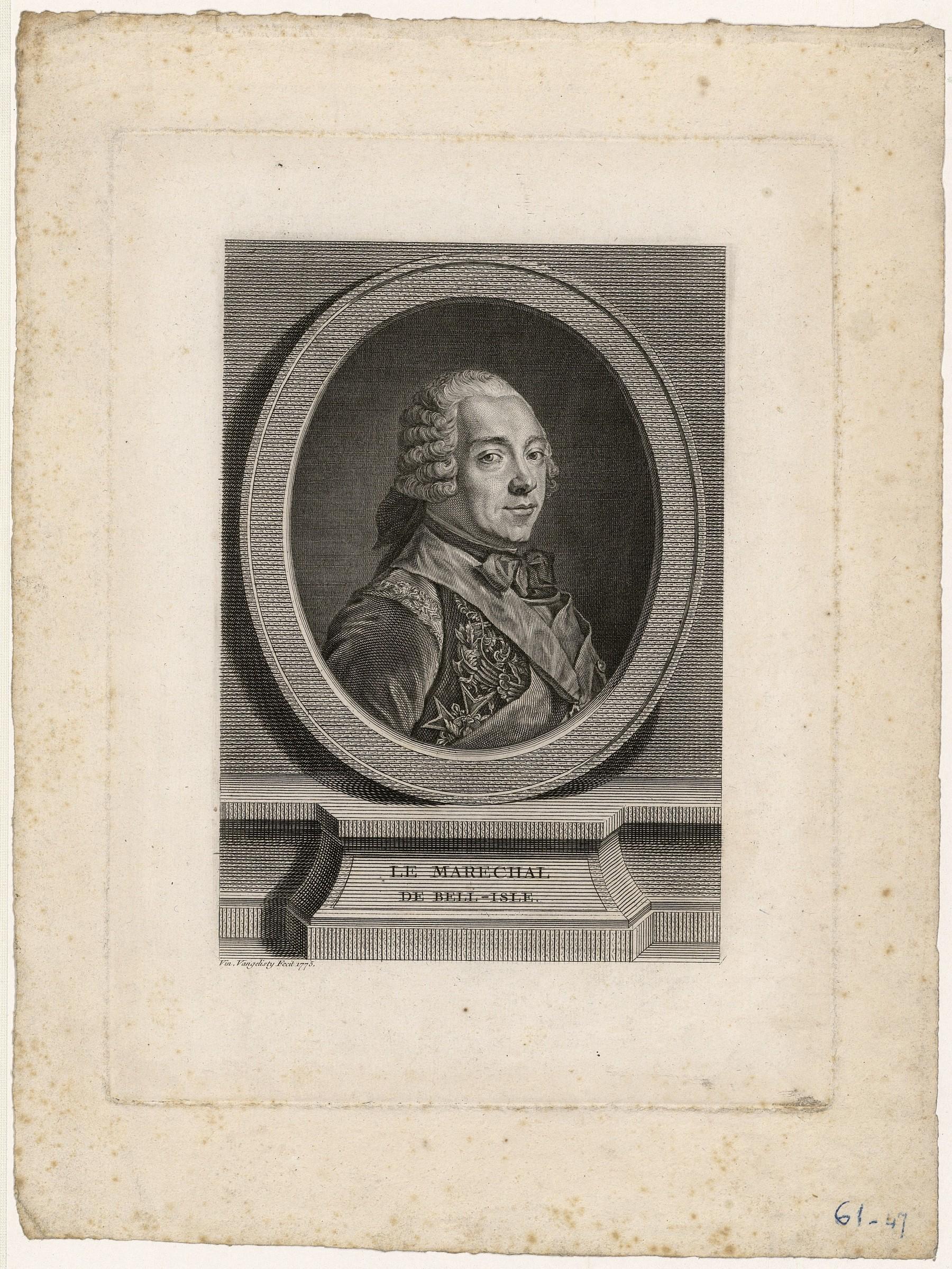 Contenu du Le maréchal de Belle-Isle