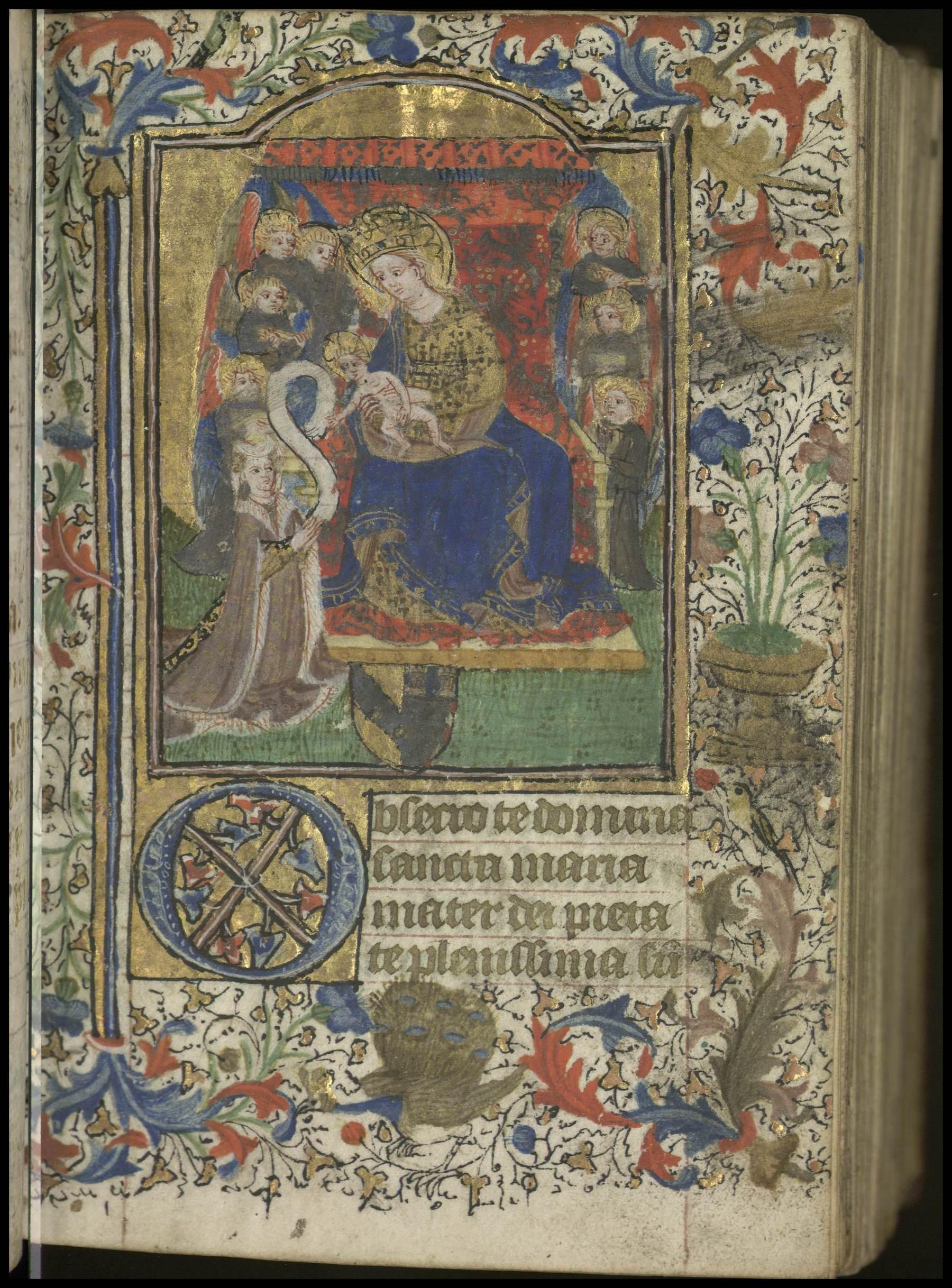 Contenu du Livre d'heures de Jean de Vy et Perrette Baudoche à l'usage de Metz