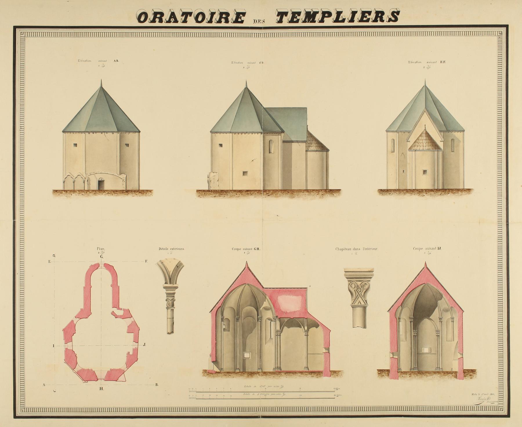 Contenu du Oratoire des Templiers