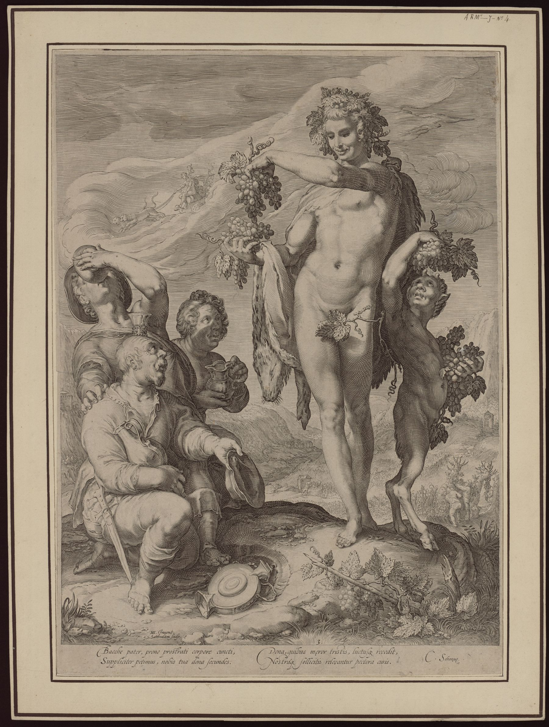 Contenu du Le Culte de Bacchus