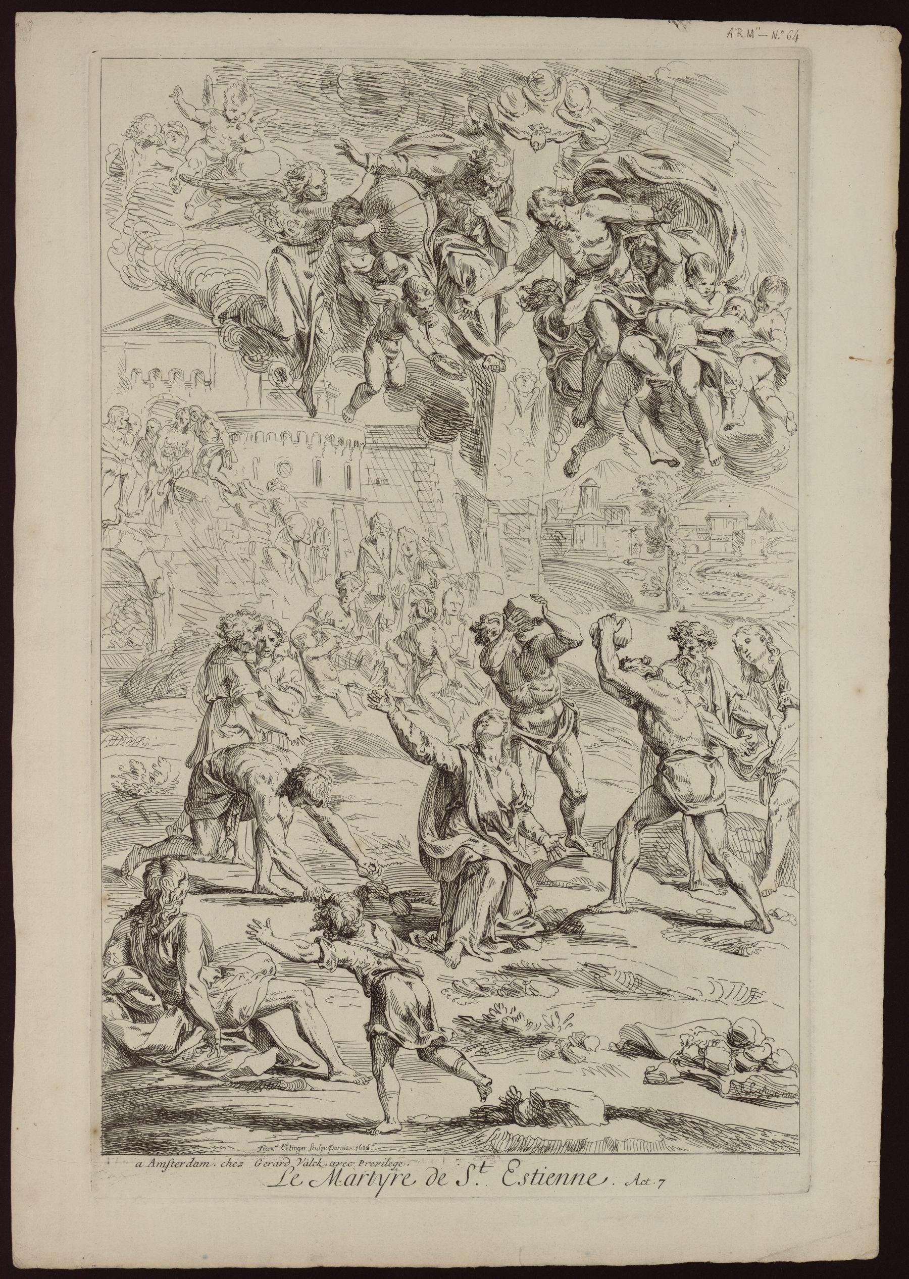 Contenu du Le martyre de St Etienne