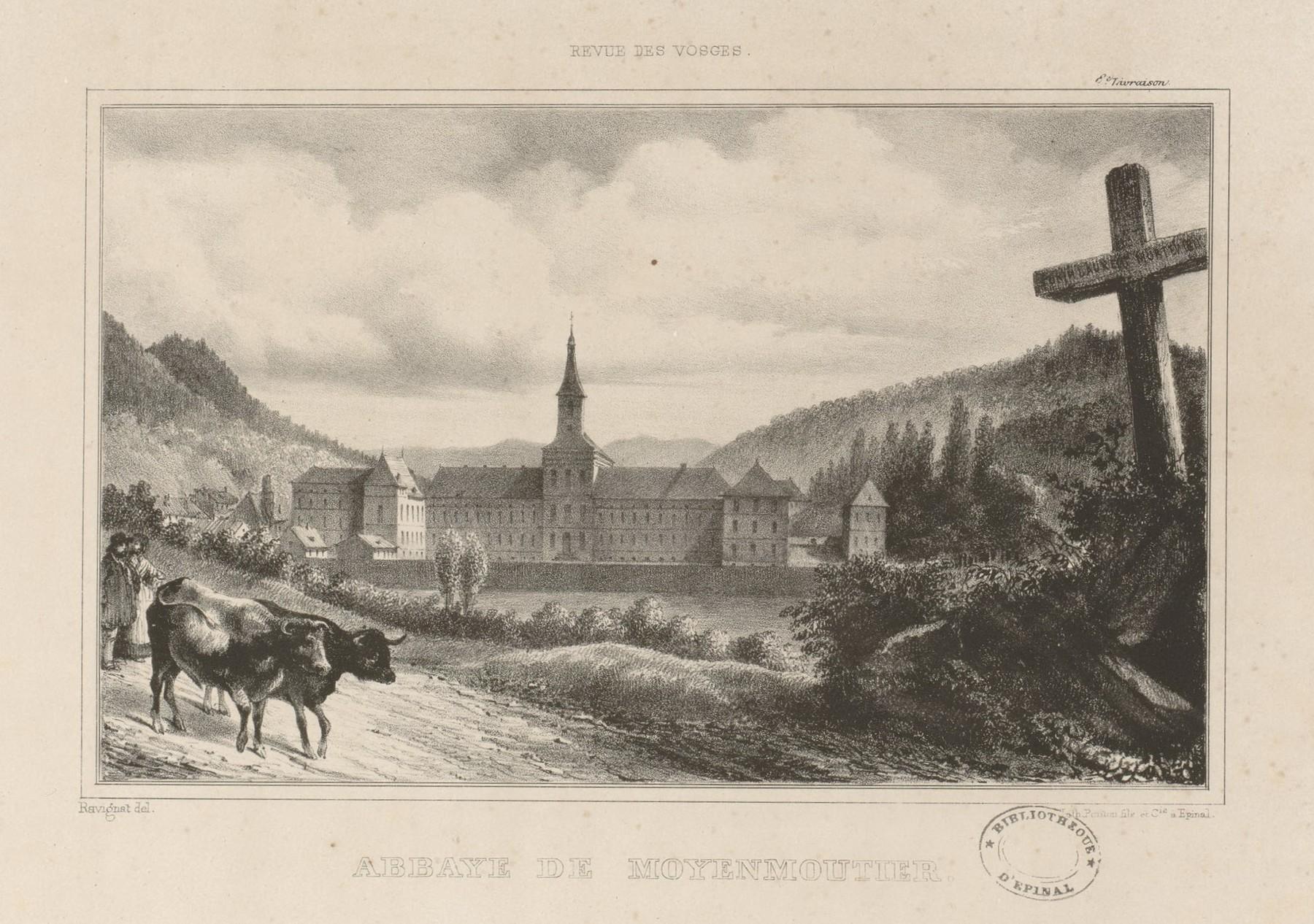 Contenu du Abbaye de Moyenmoutier