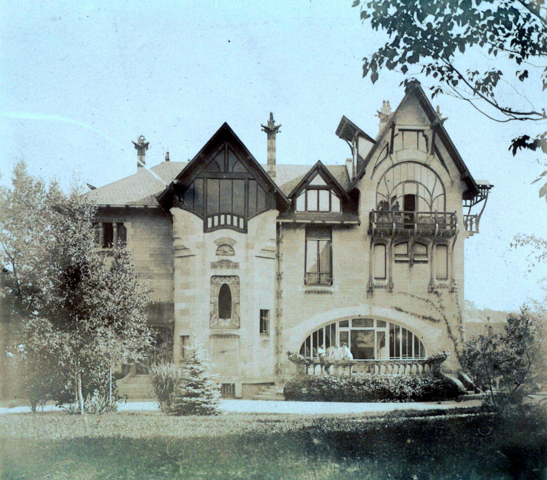 Contenu du La Villa Majorelle