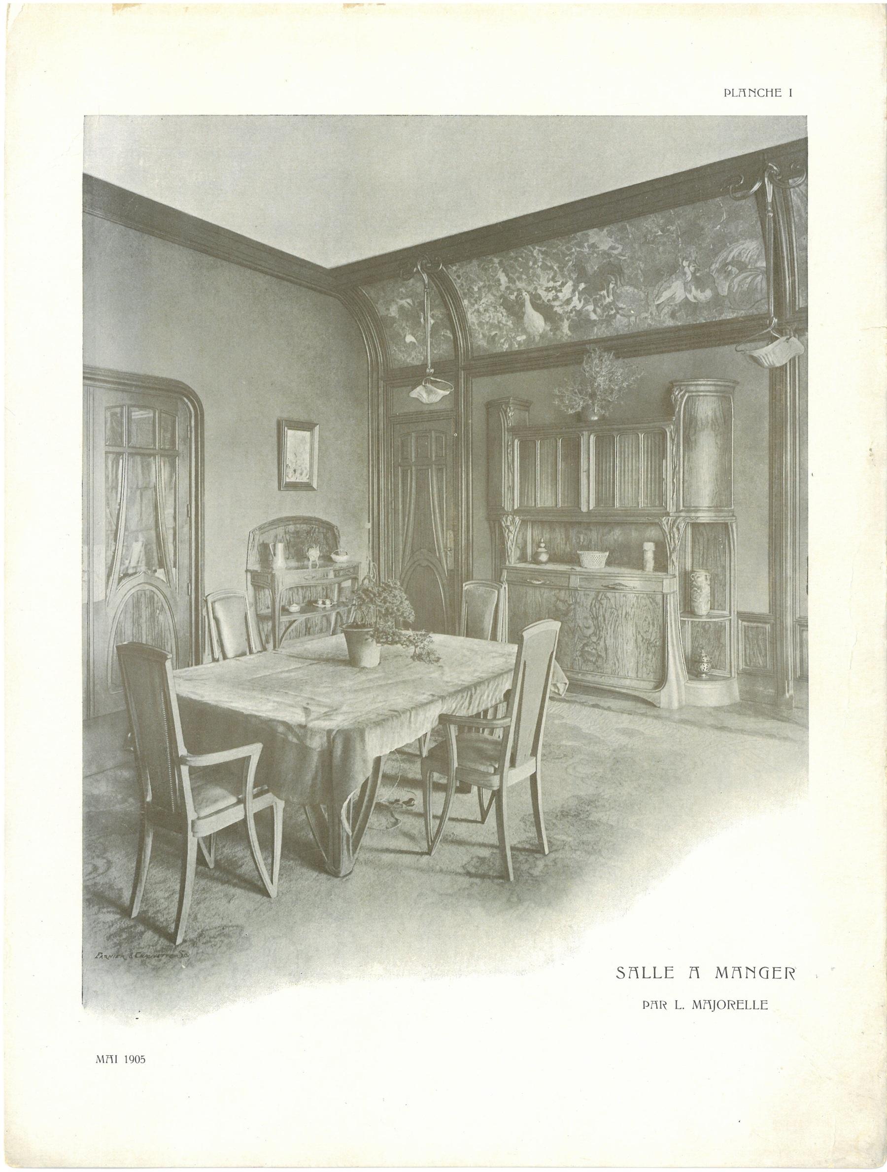 Contenu du Salle à manger Les Blés de la Villa Majorelle