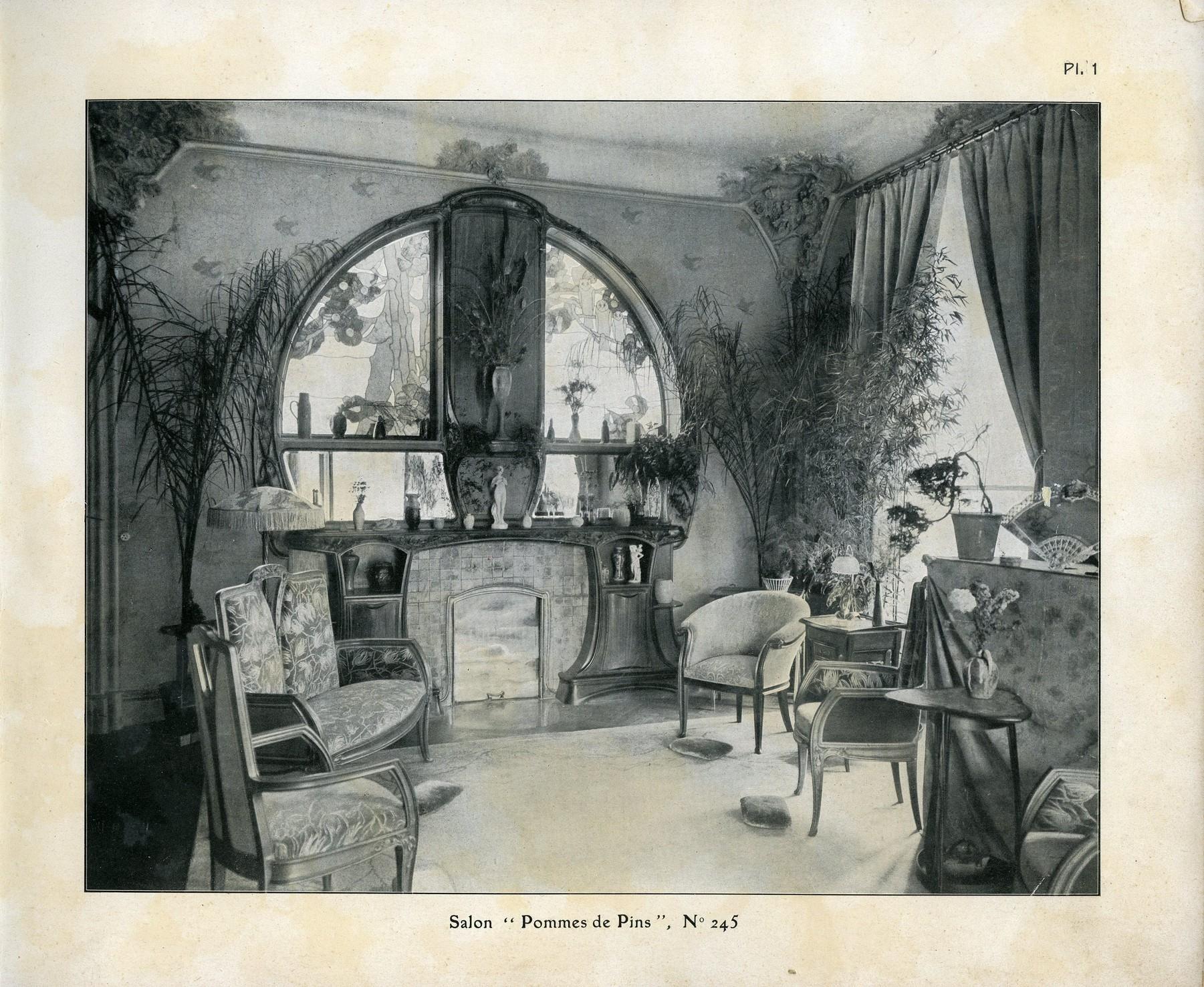 Contenu du Salon de la Villa Majorelle