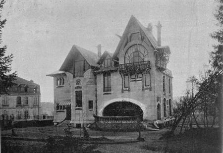 La villa Majorelle à Nancy
