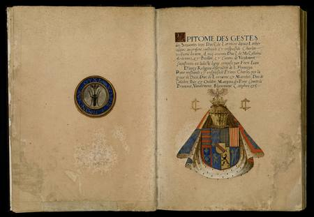 Epitome des gestes des soixantes trois ducz de Lorraine depuis Lother jusq…
